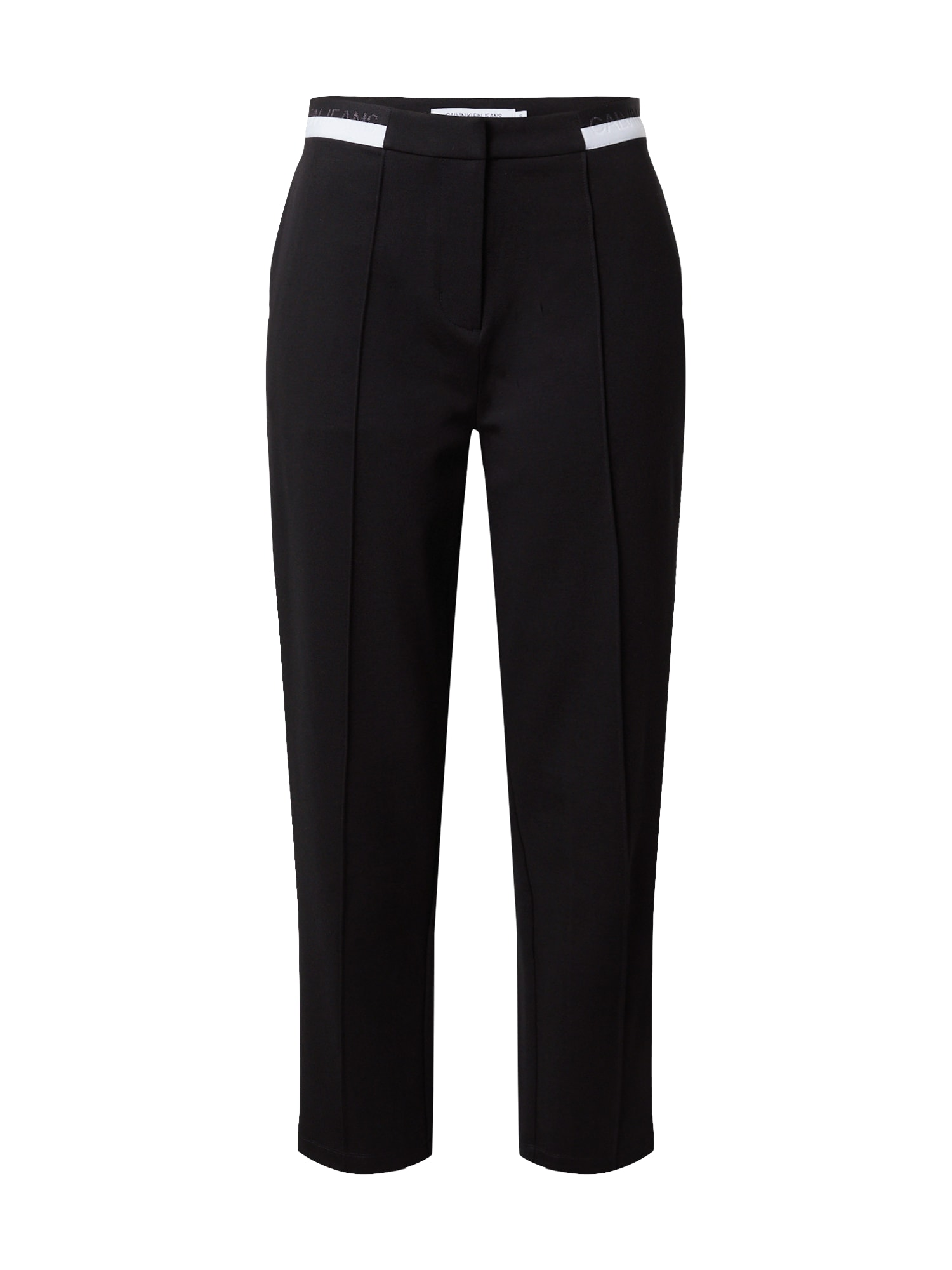 Calvin Klein Jeans Kelnės su kantu juoda