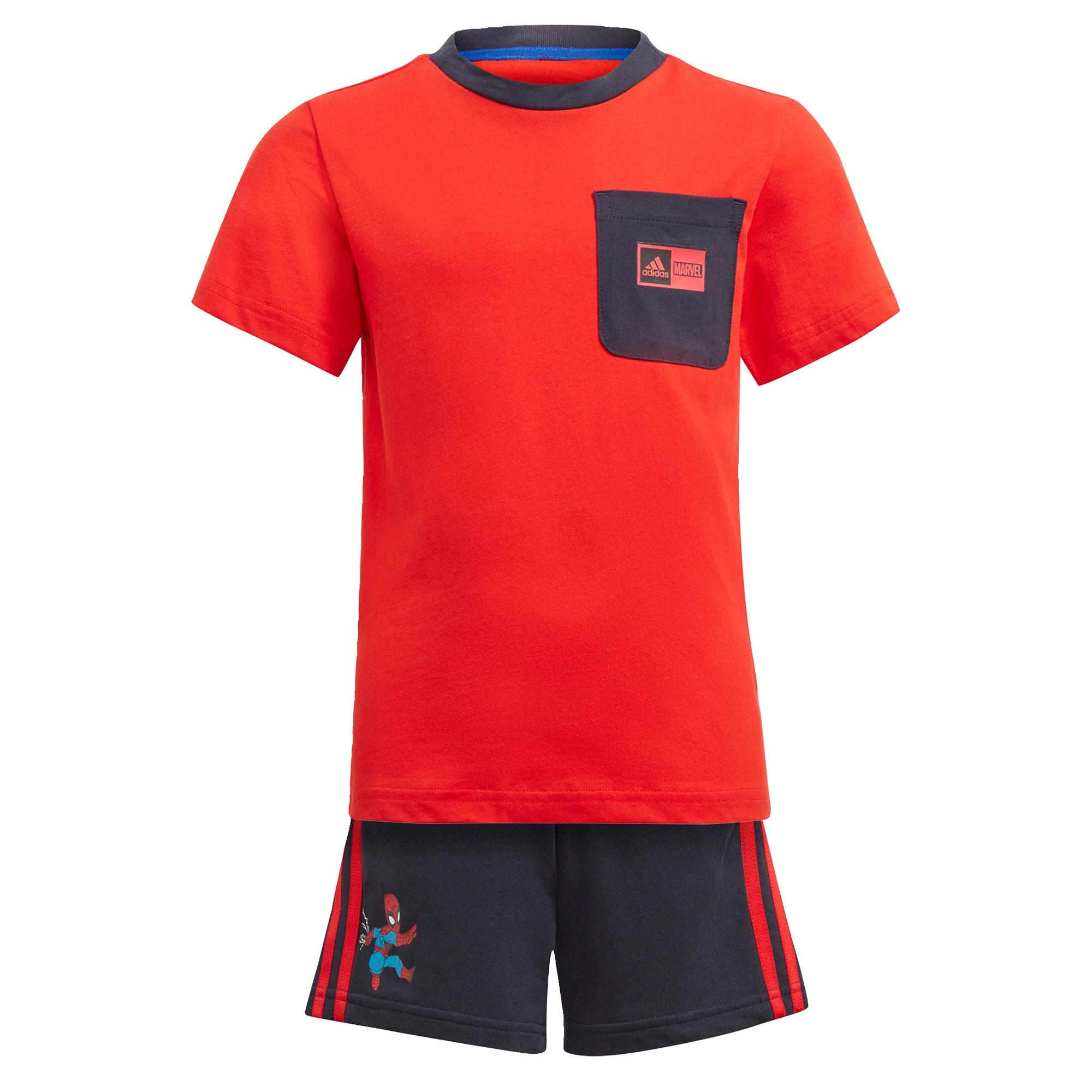 ADIDAS PERFORMANCE Sportovní oblečení  noční modrá / červená / modrá