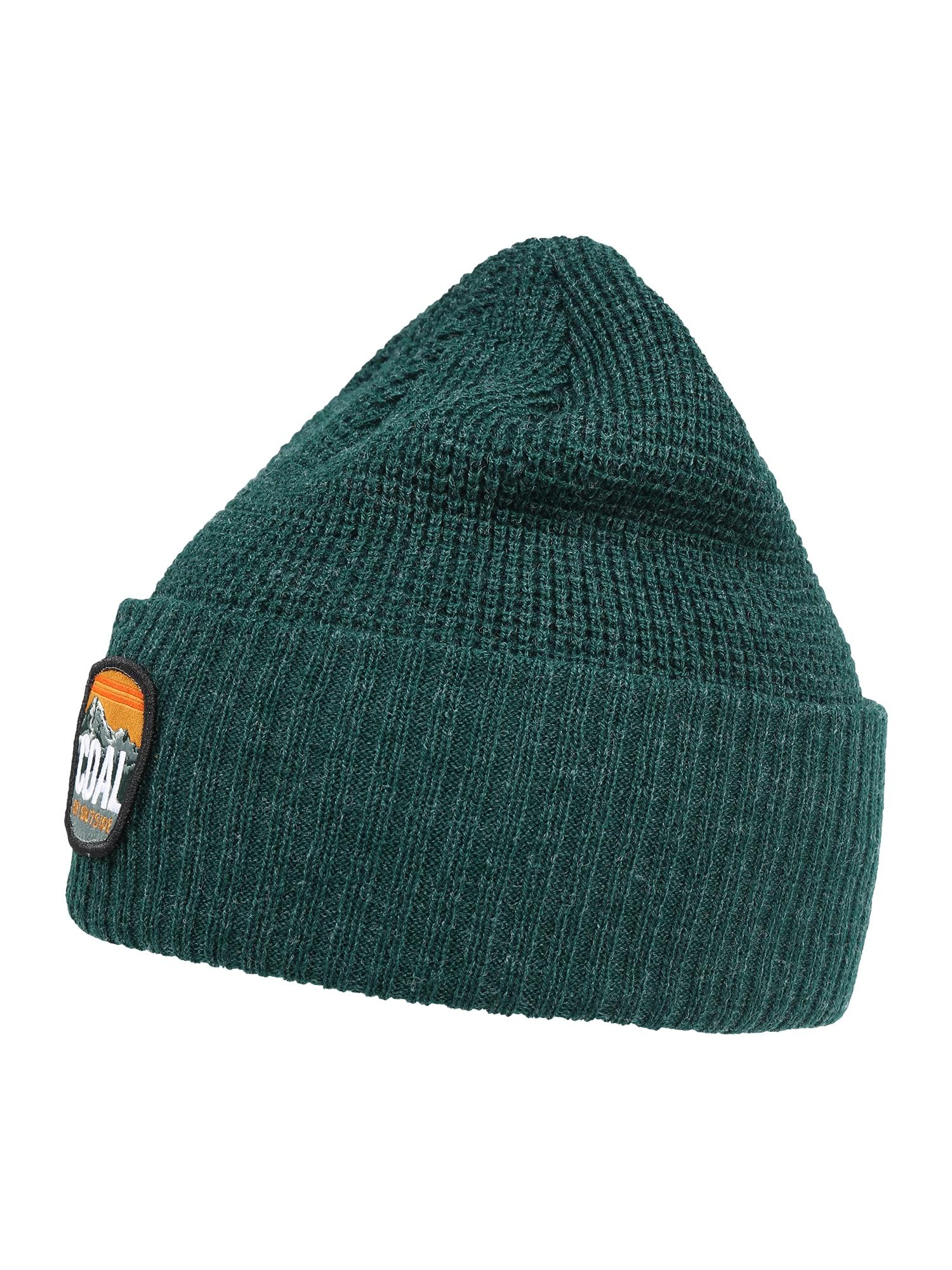 Coal Sportovní čepice  zelený melír / tmavě šedá / tmavě oranžová / bílá / mix barev