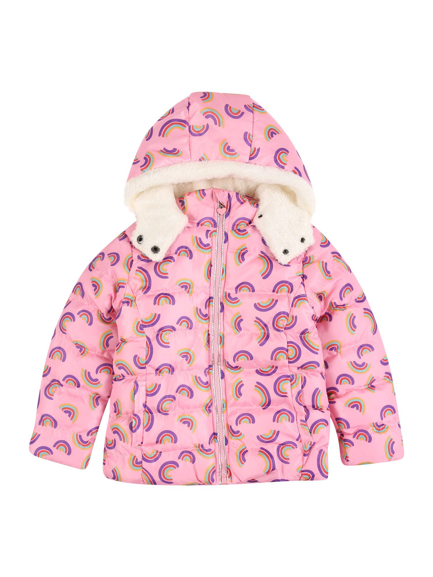 LEMON BERET Žieminė striukė rožinė / mišrios spalvos