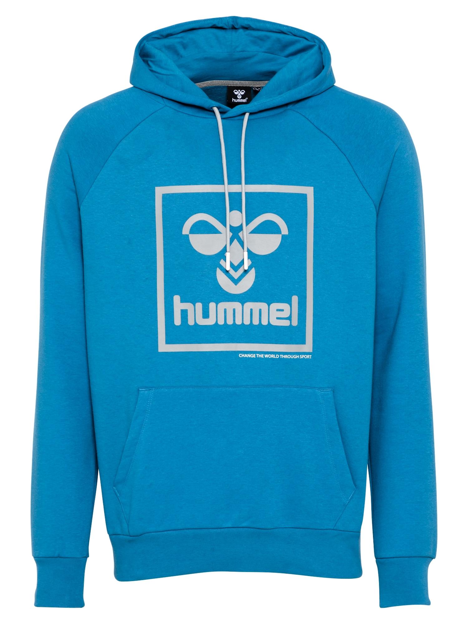 Hummel Sportinio tipo megztinis mėlyna / pilka