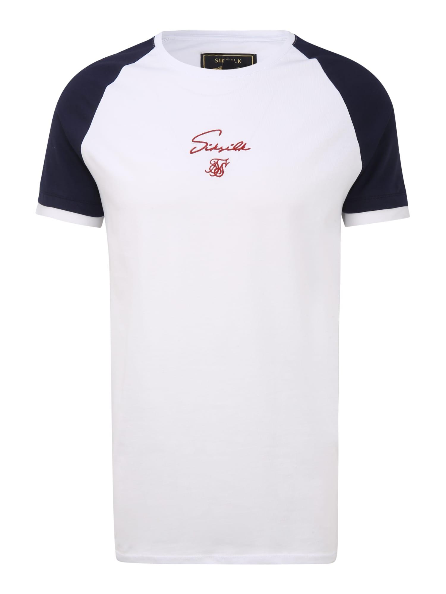 SikSilk Marškinėliai balta