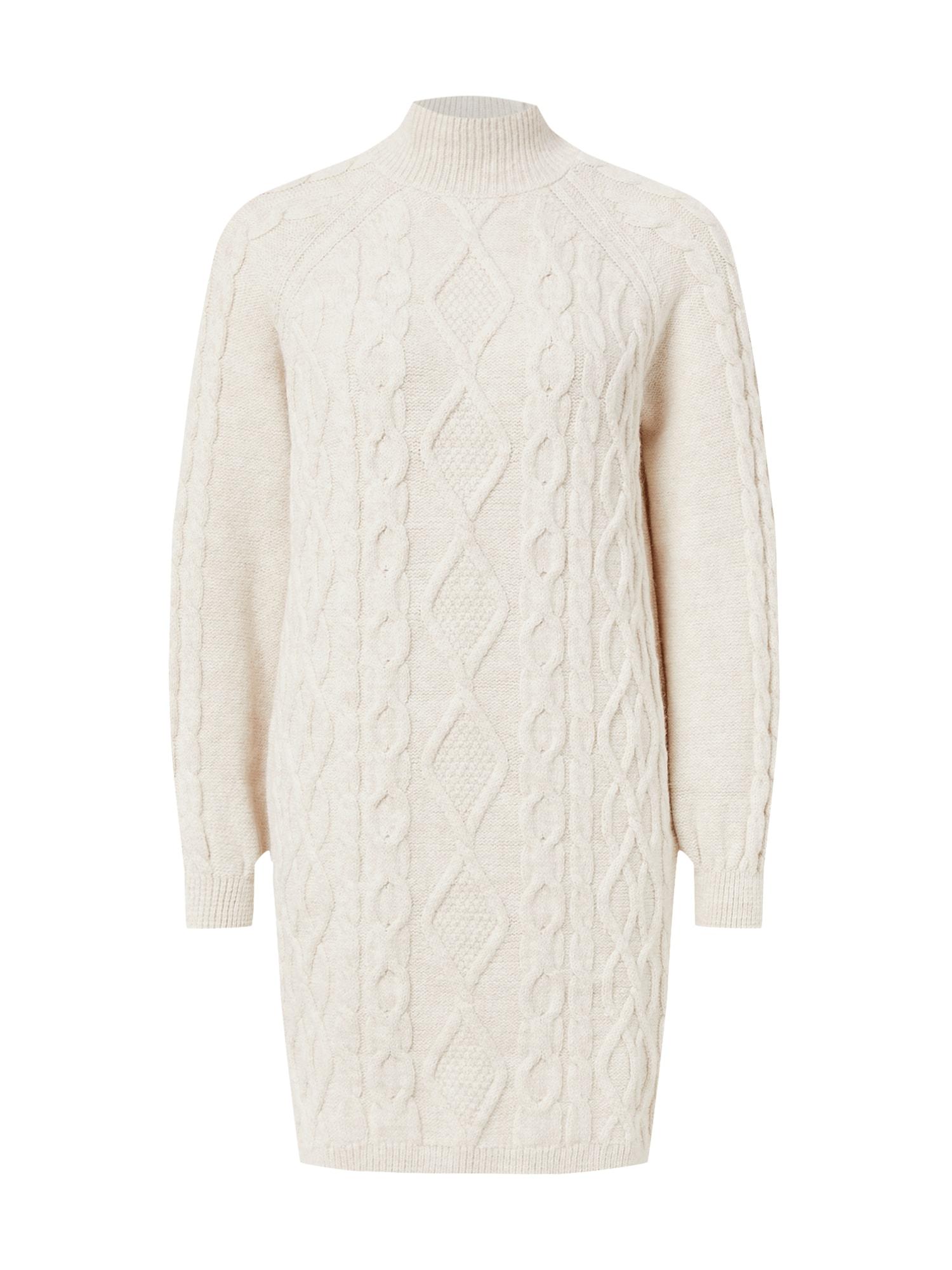 ONLY Úpletové šaty 'New Freya'  bílá