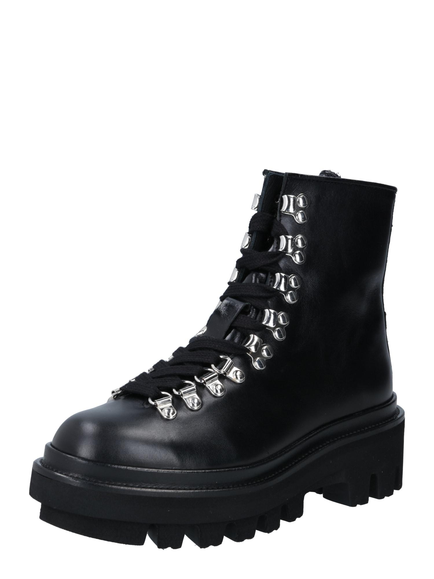 AllSaints Suvarstomieji kulkšnis dengiantys batai