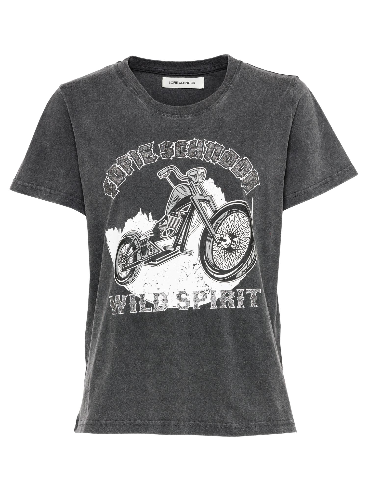 Sofie Schnoor Marškinėliai juoda / balta