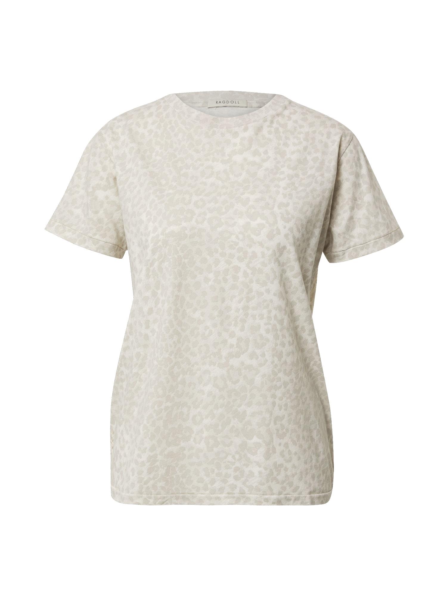 Ragdoll LA Marškinėliai šviesiai pilka / smėlio