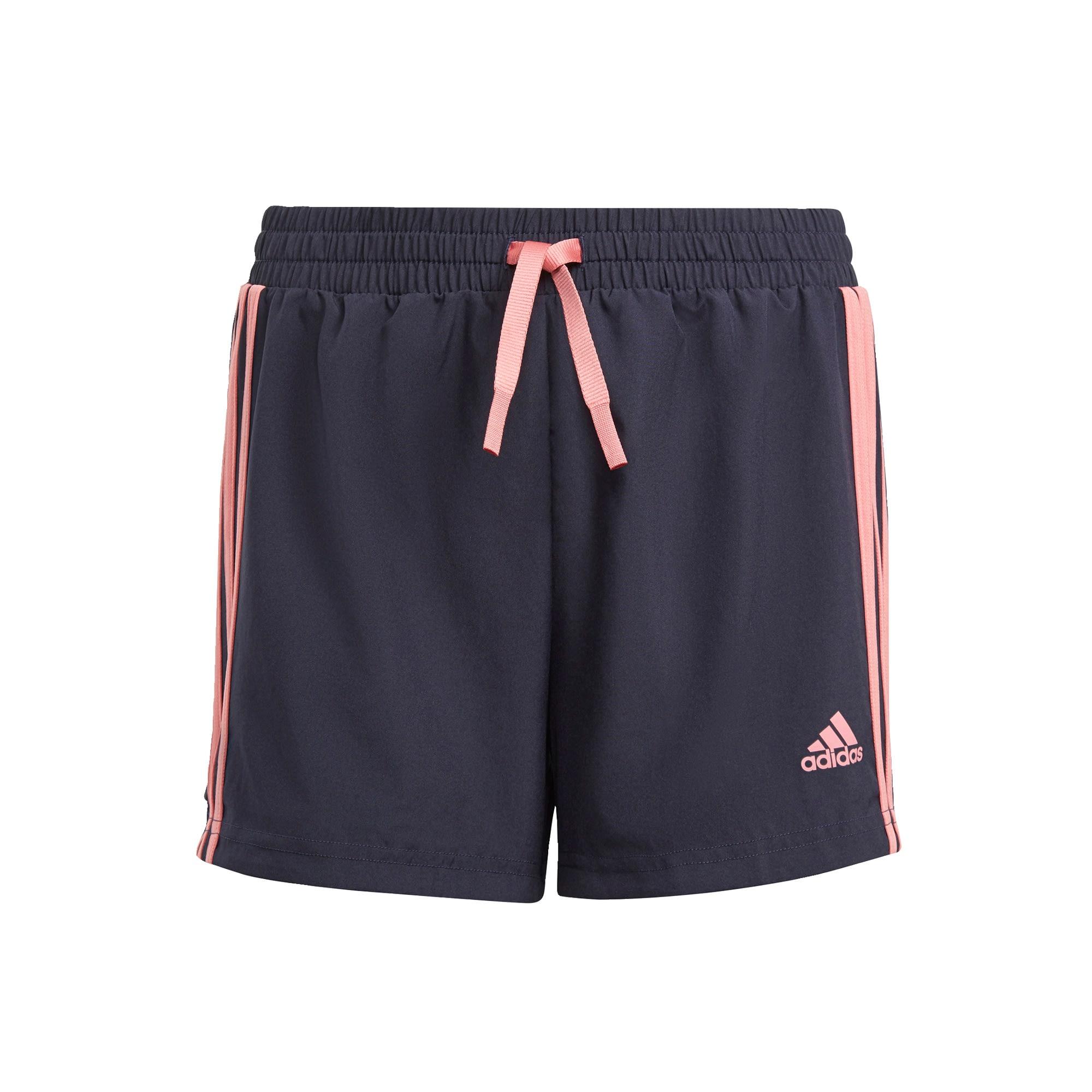ADIDAS PERFORMANCE Sportinės kelnės tamsiai mėlyna jūros spalva / rožių spalva