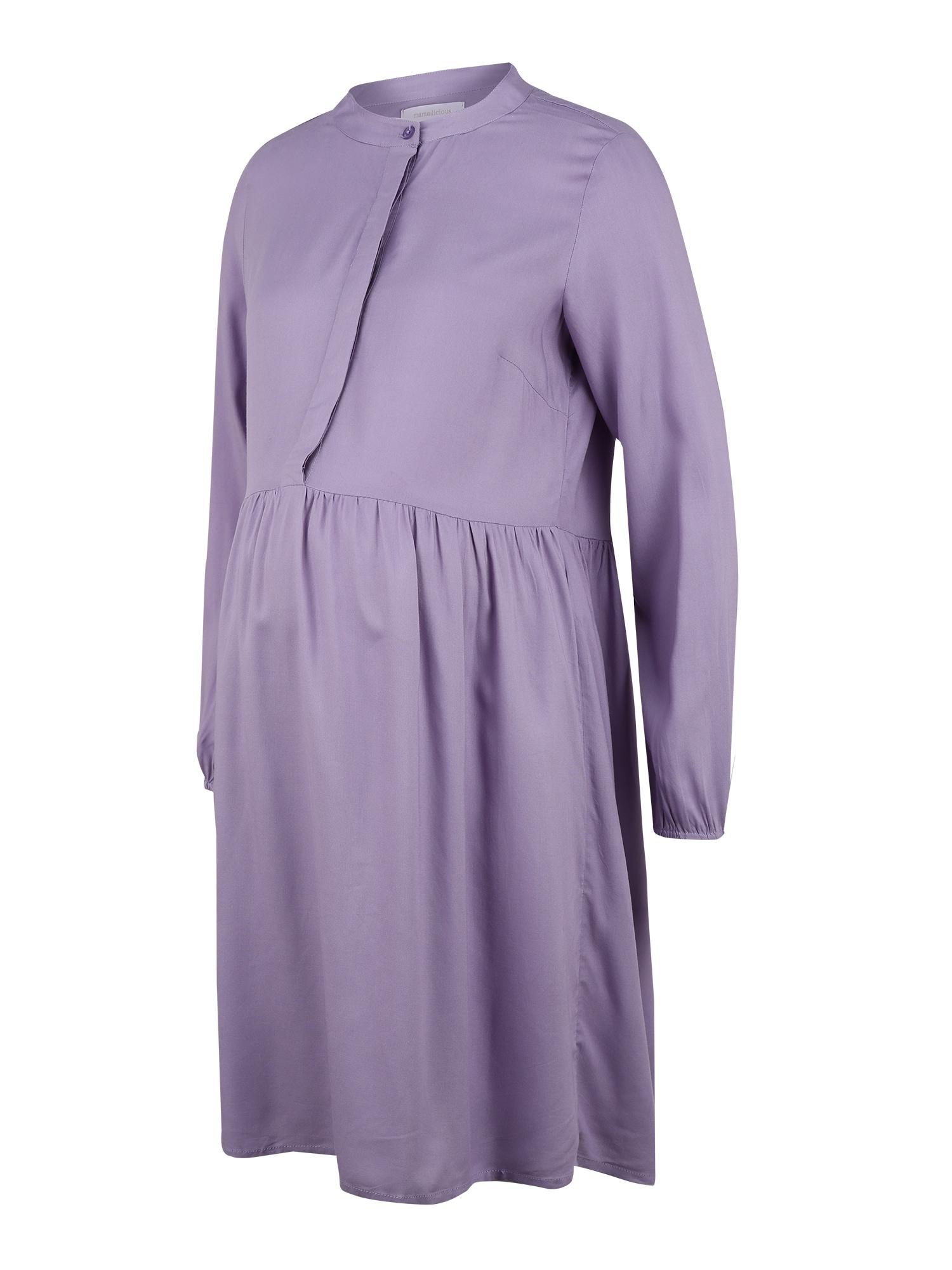 MAMALICIOUS Suknelė alyvinė spalva