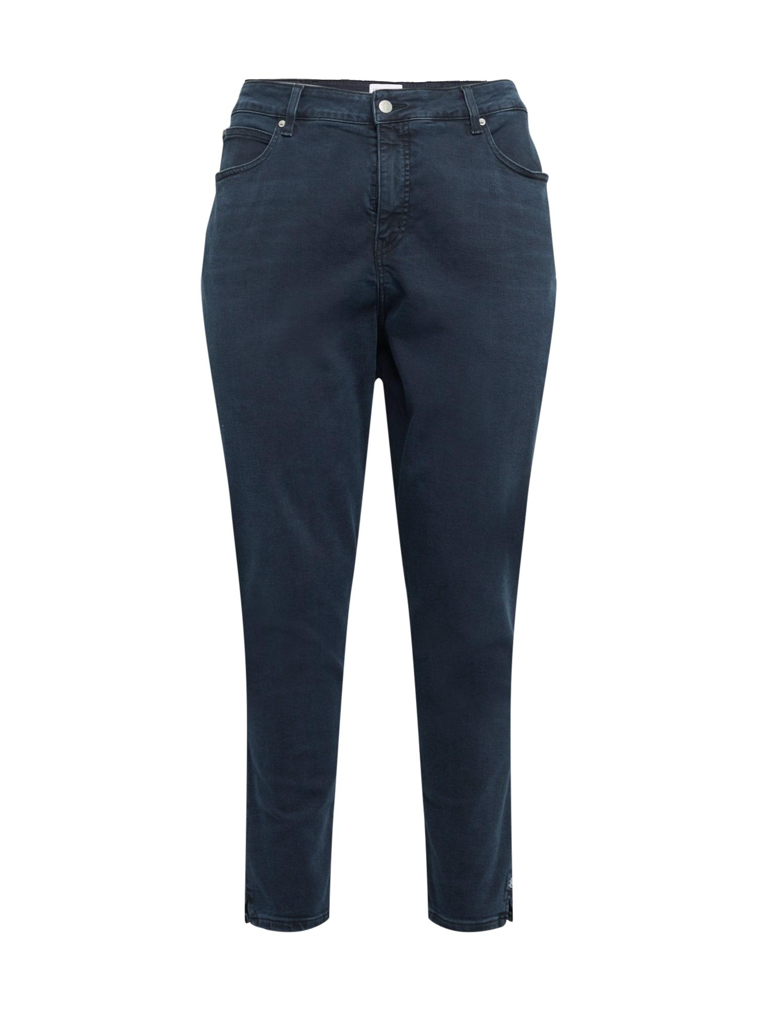 Calvin Klein Jeans Curve Džinsai nakties mėlyna