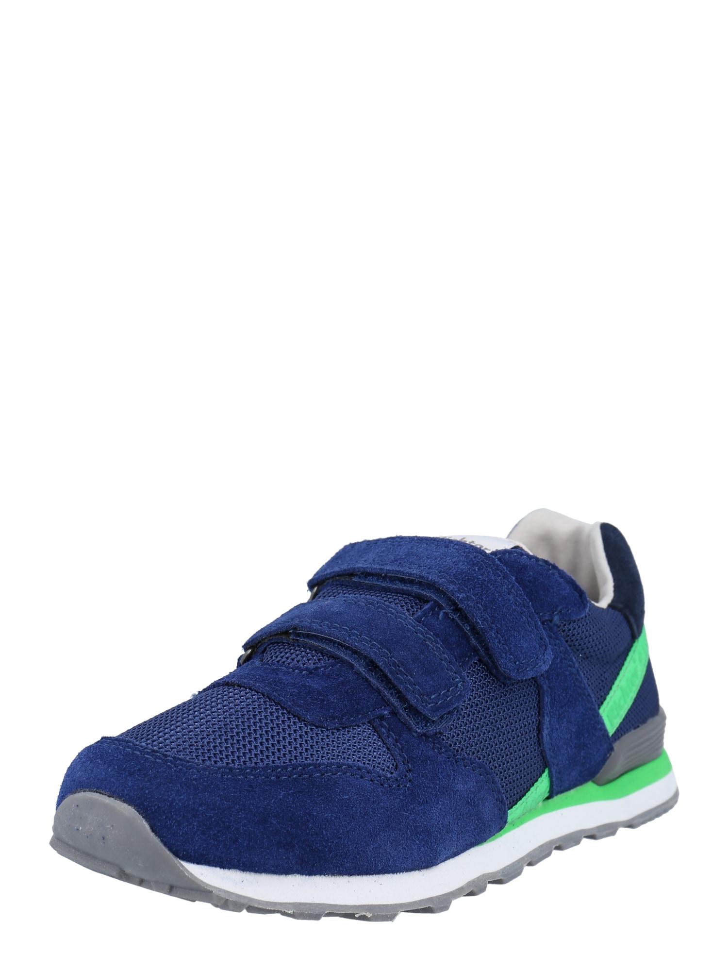 RICHTER Sportbačiai tamsiai mėlyna / neoninė žalia