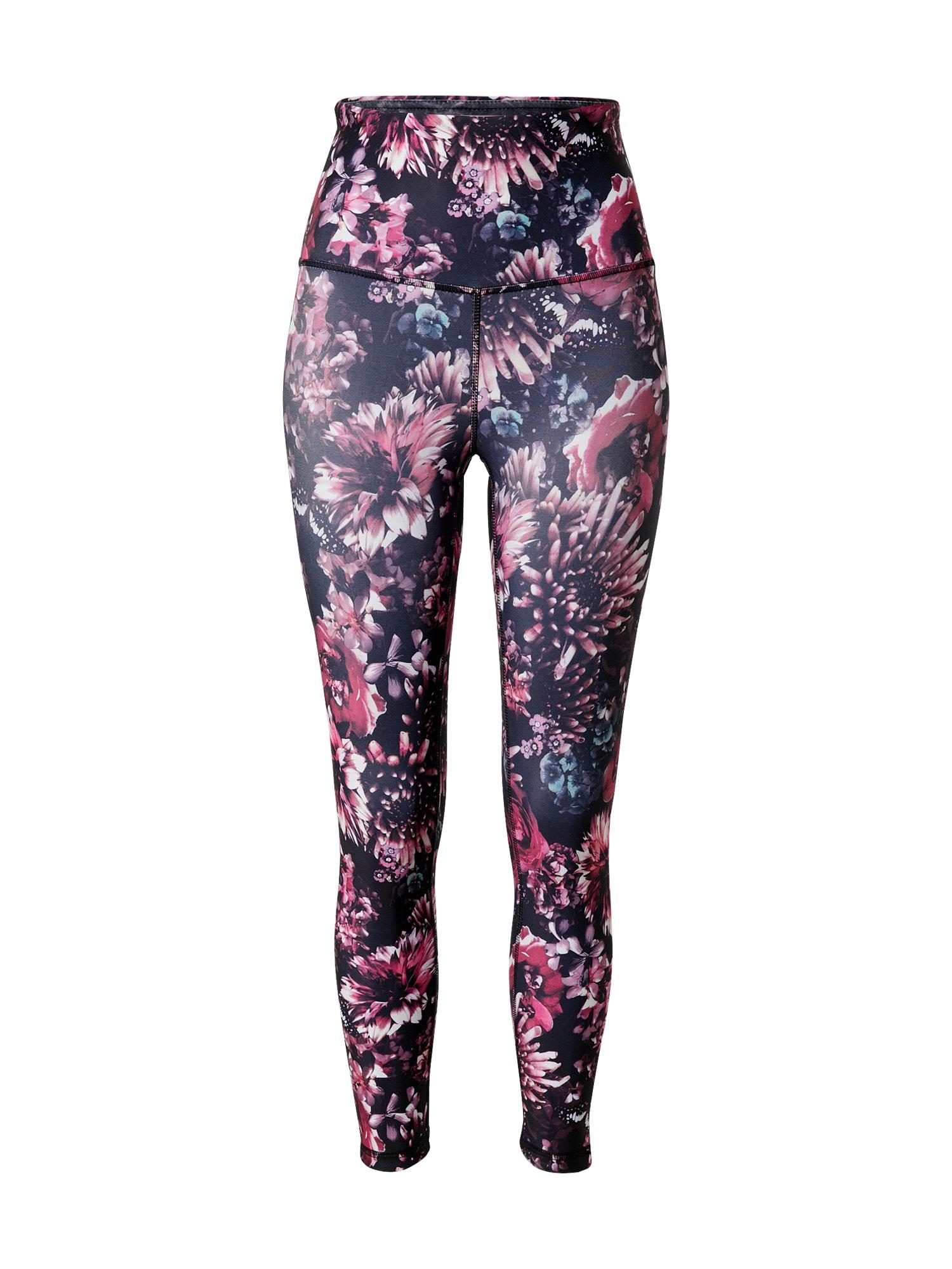 Marika Sportovní kalhoty 'ASTRID'  pink / černá / červená / bílá