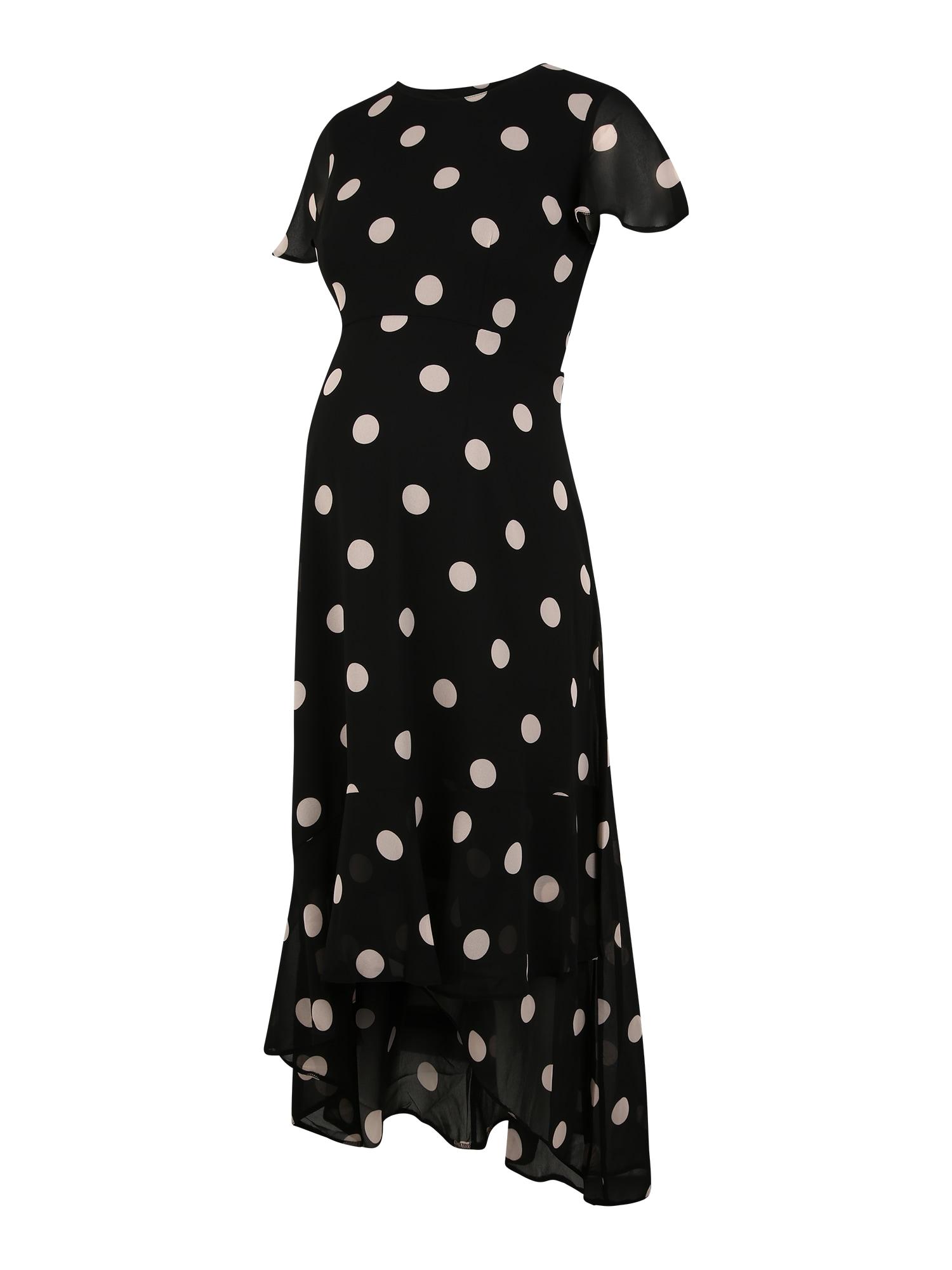 Dorothy Perkins Maternity Suknelė juoda / šviesiai rožinė