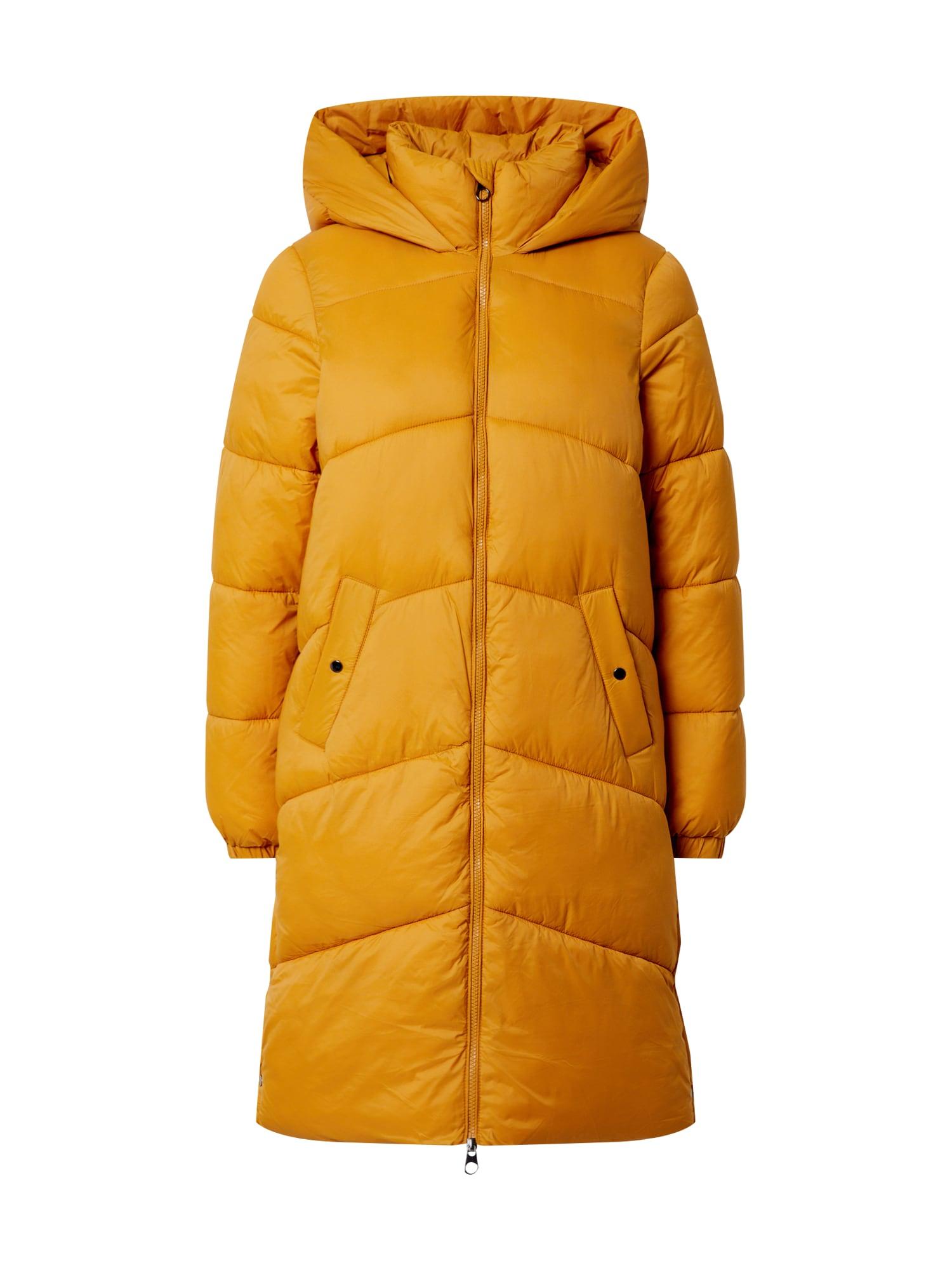 VERO MODA Zimní kabát 'Upsala'  žlutá