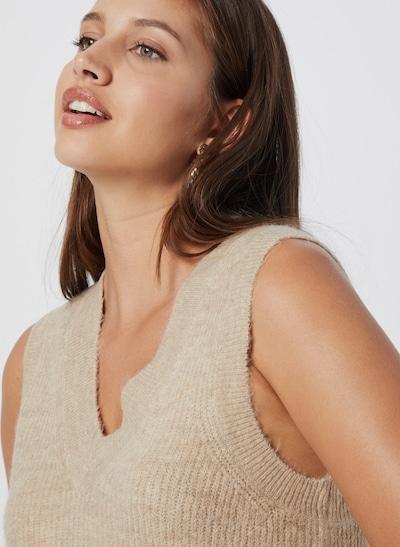 Vestă tricotată 'Elanor'