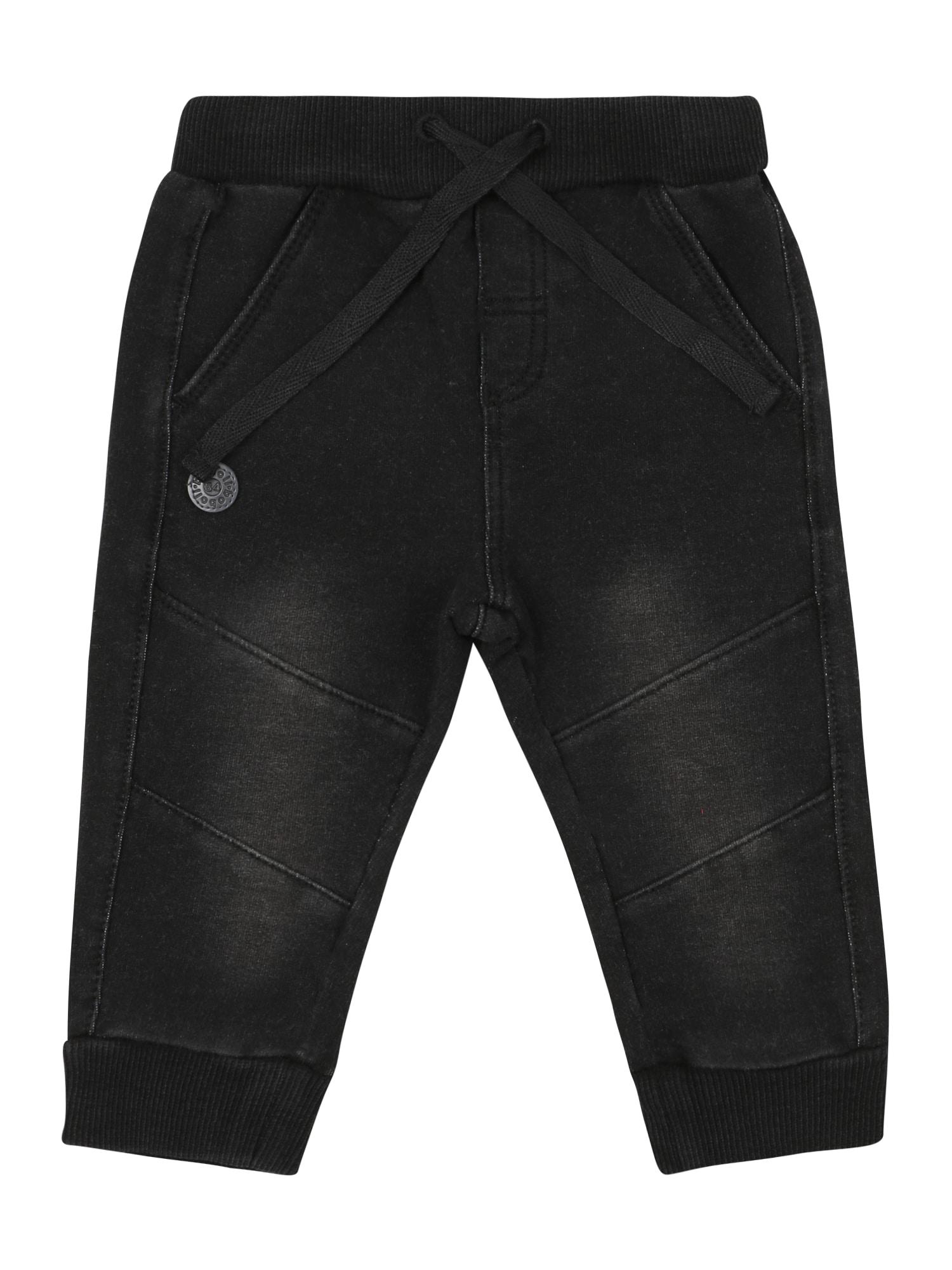 Boboli Kelnės juodo džinso spalva