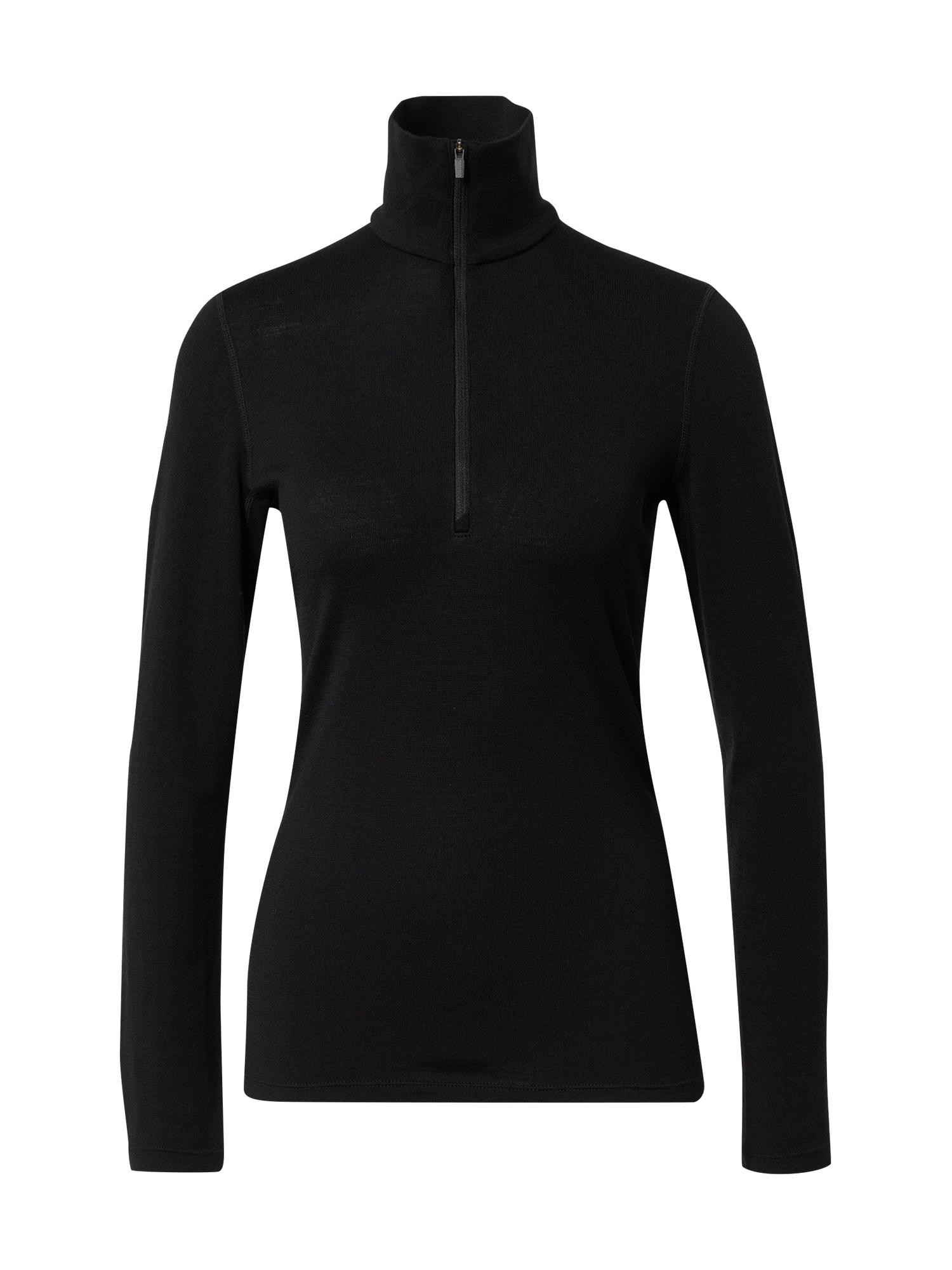 ICEBREAKER Sportinis megztinis juoda