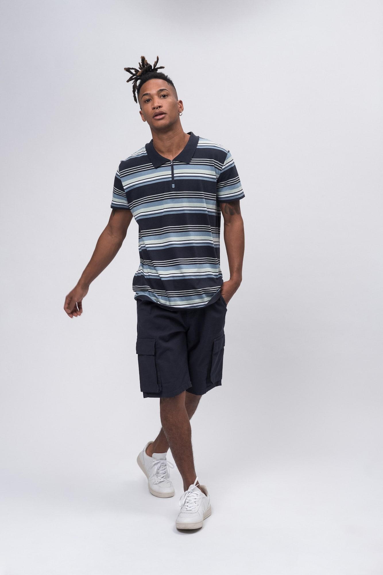 recolution - Poloshirt Polo Shirt 'ZIP'