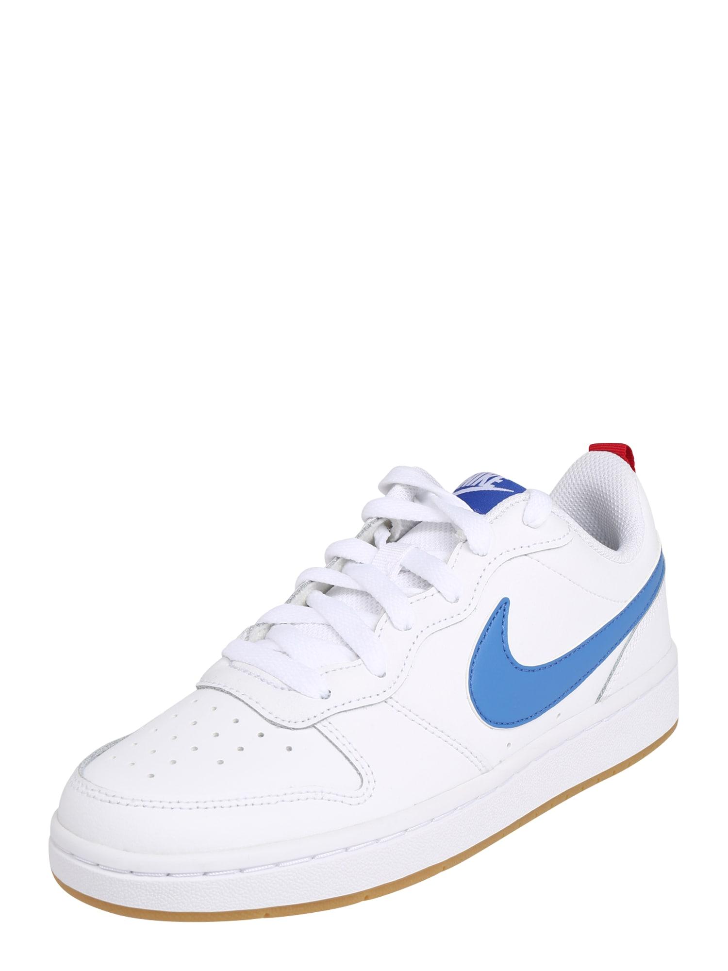 Nike Sportswear Tenisky 'Court Vision'  bílá / modrá