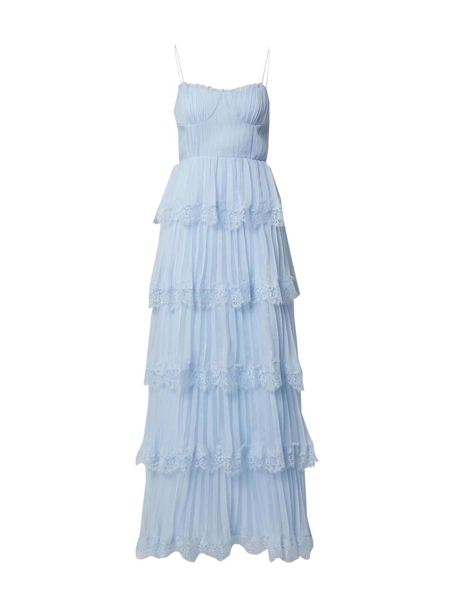 True Decadence Vakarinė suknelė šviesiai mėlyna