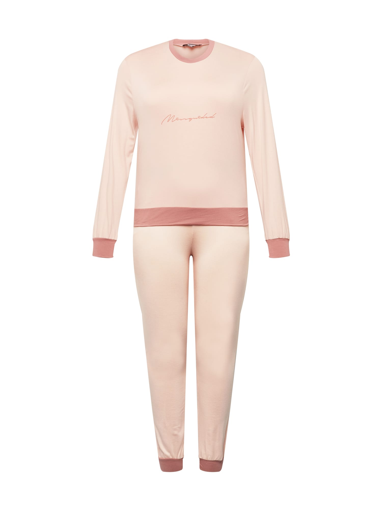 Missguided Plus Naminis kostiumas ryškiai rožinė spalva / pudros spalva