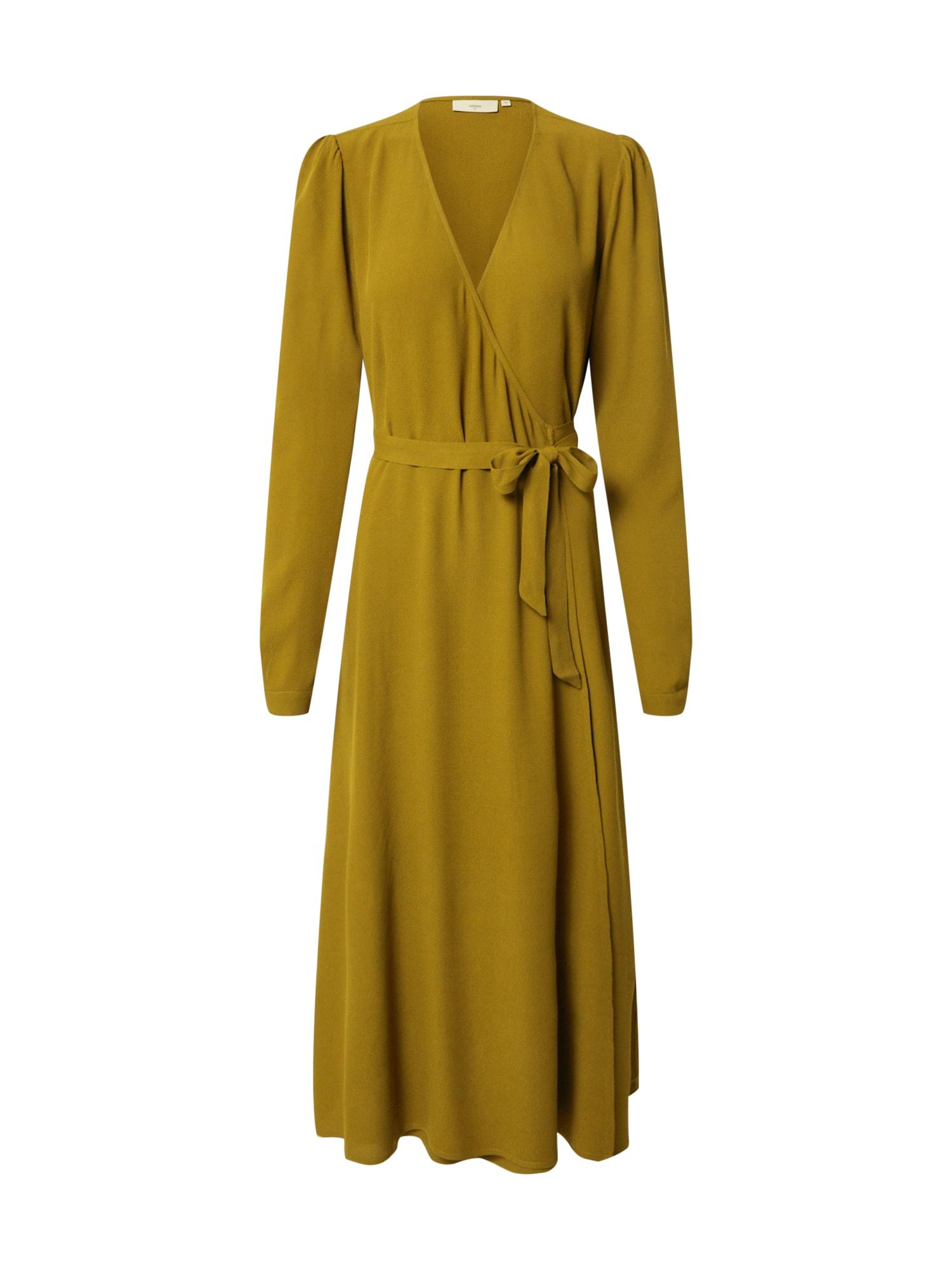 minimum Suknelė rusvai žalia