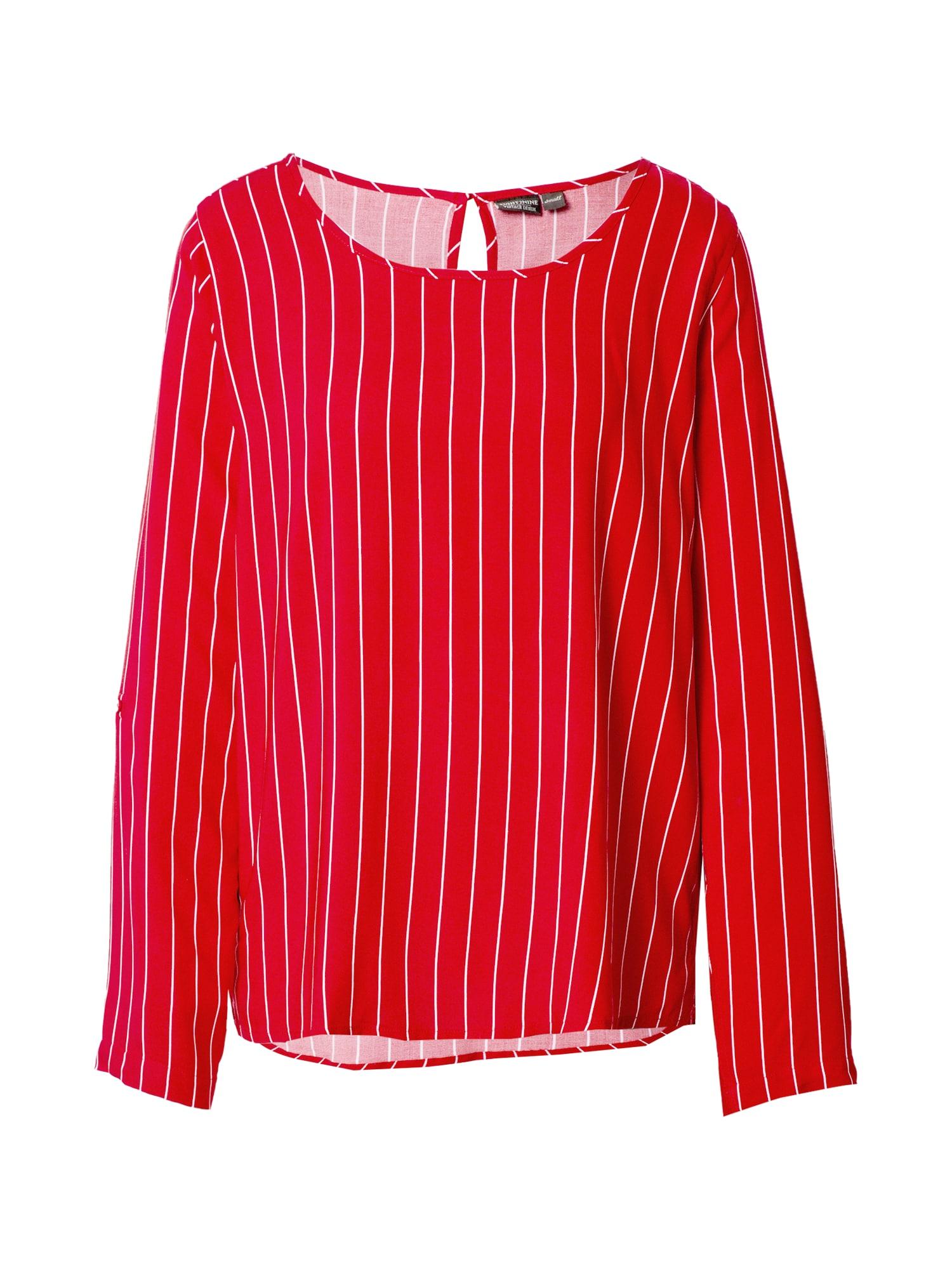 Eight2Nine Marškinėliai balta / raudona