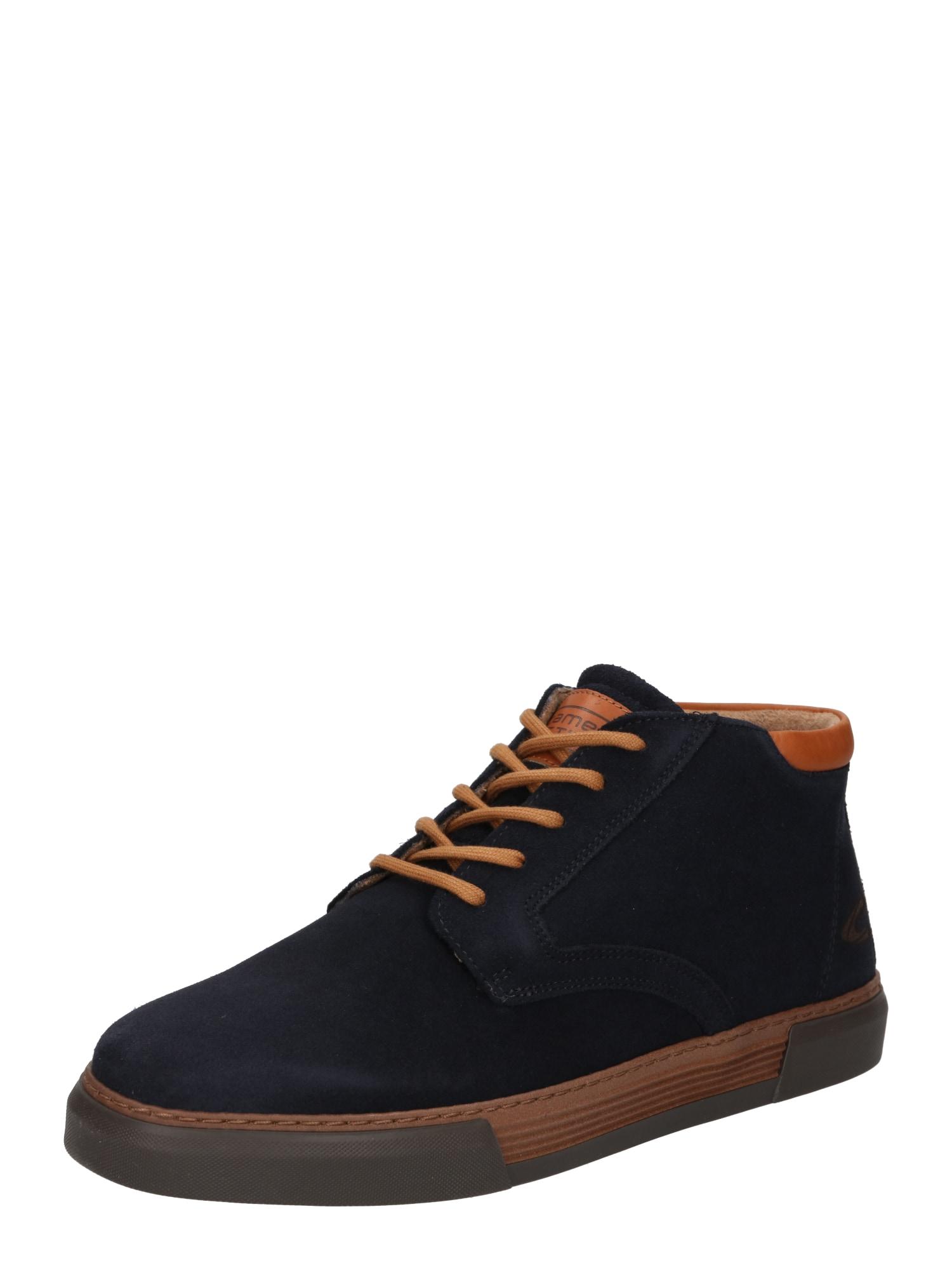 """CAMEL ACTIVE """"Chukka"""" batai tamsiai mėlyna / karamelės"""