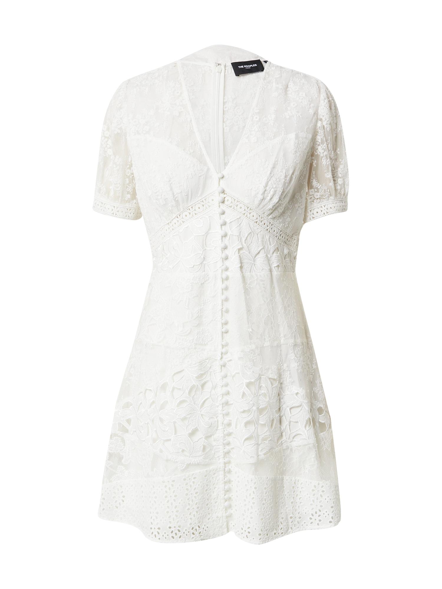 The Kooples Vasarinė suknelė kremo