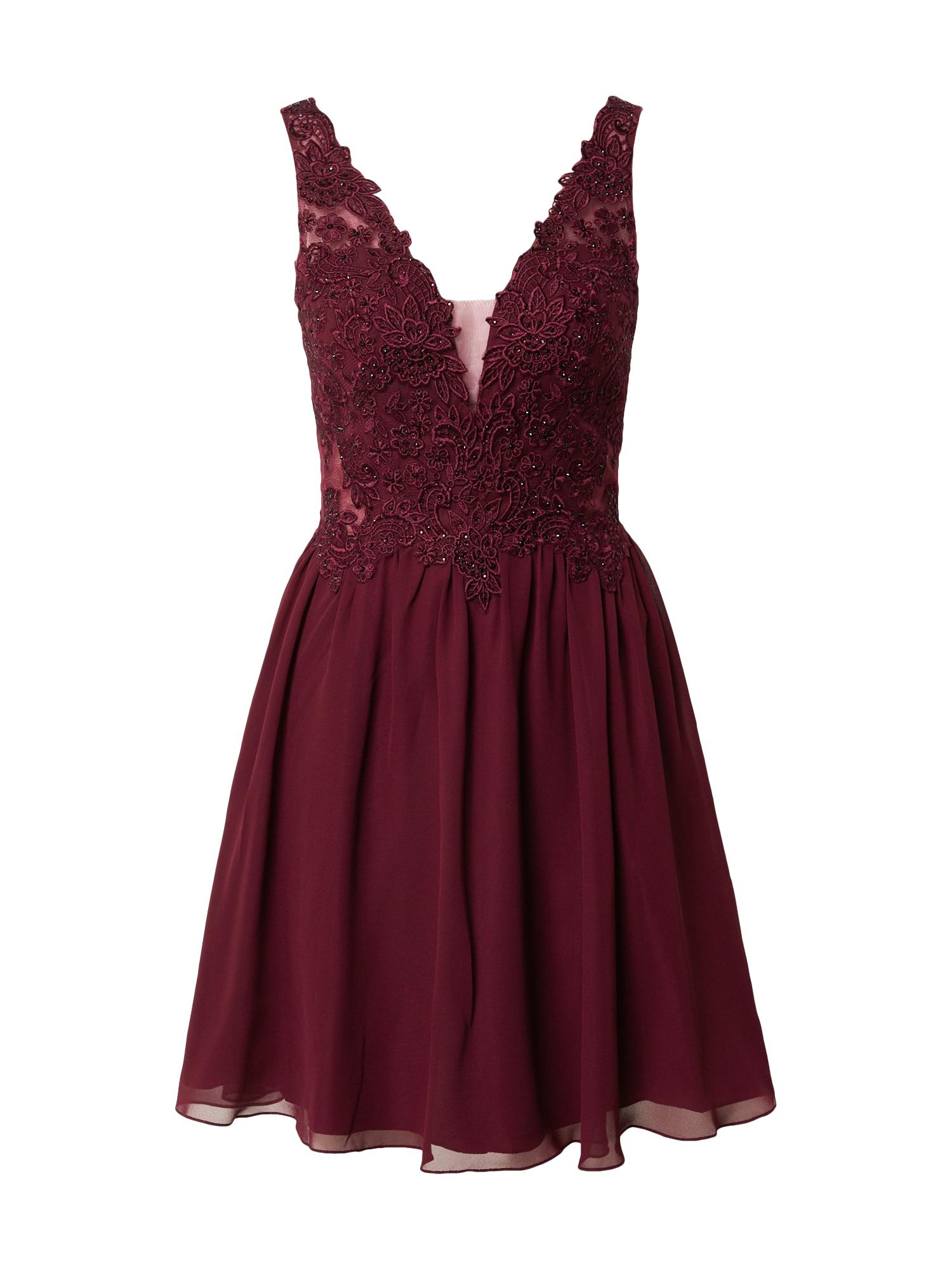 Laona Kokteilinė suknelė kraujo spalva