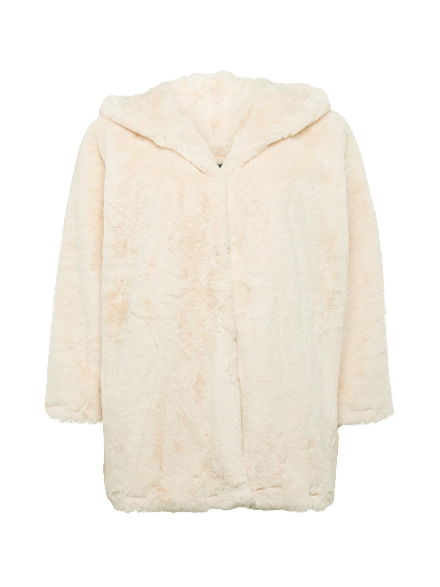 Urban Classics Curvy Demisezoninis paltas vilnos balta