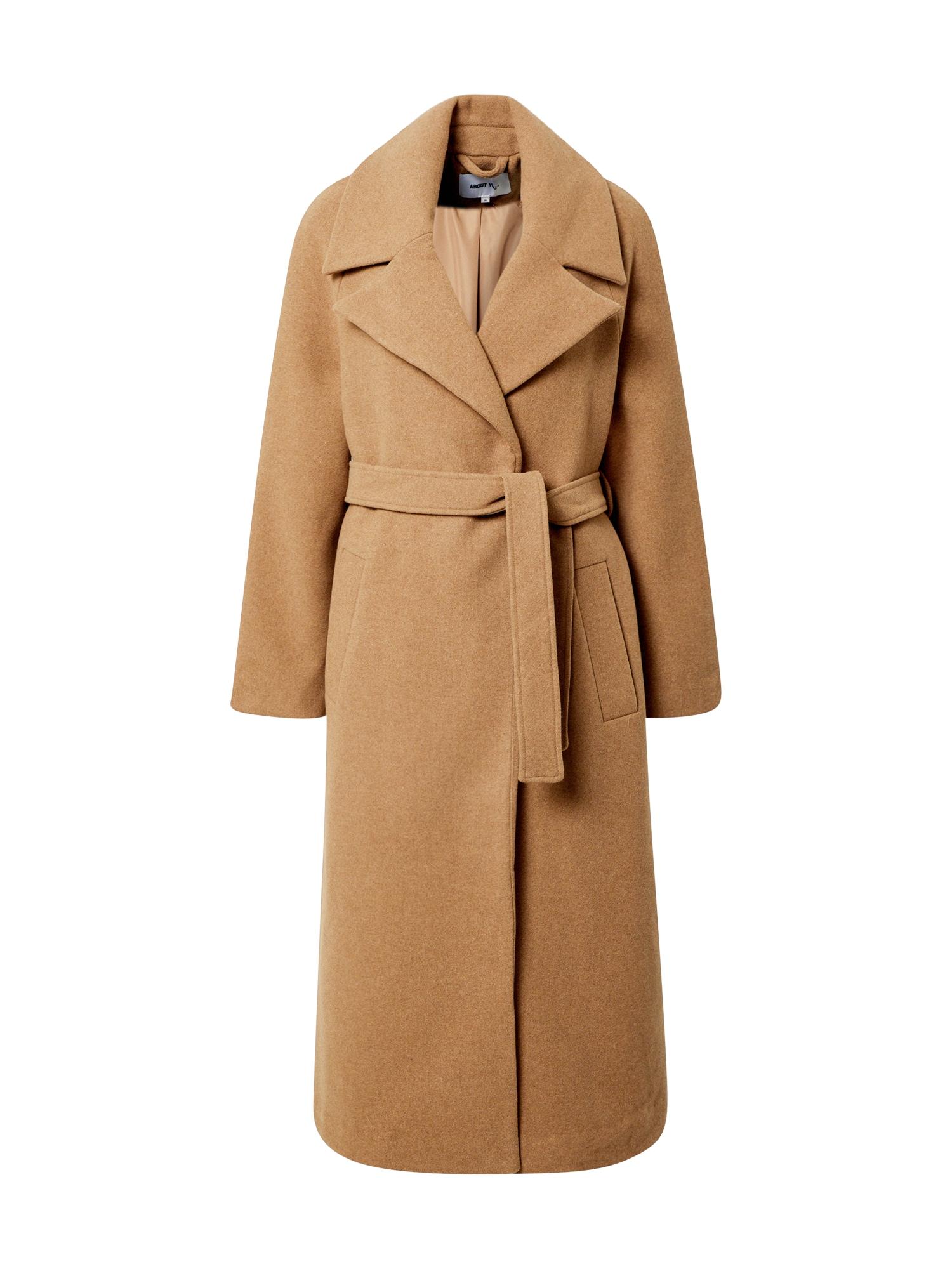 ABOUT YOU Žieminis paltas 'Suki' kupranugario
