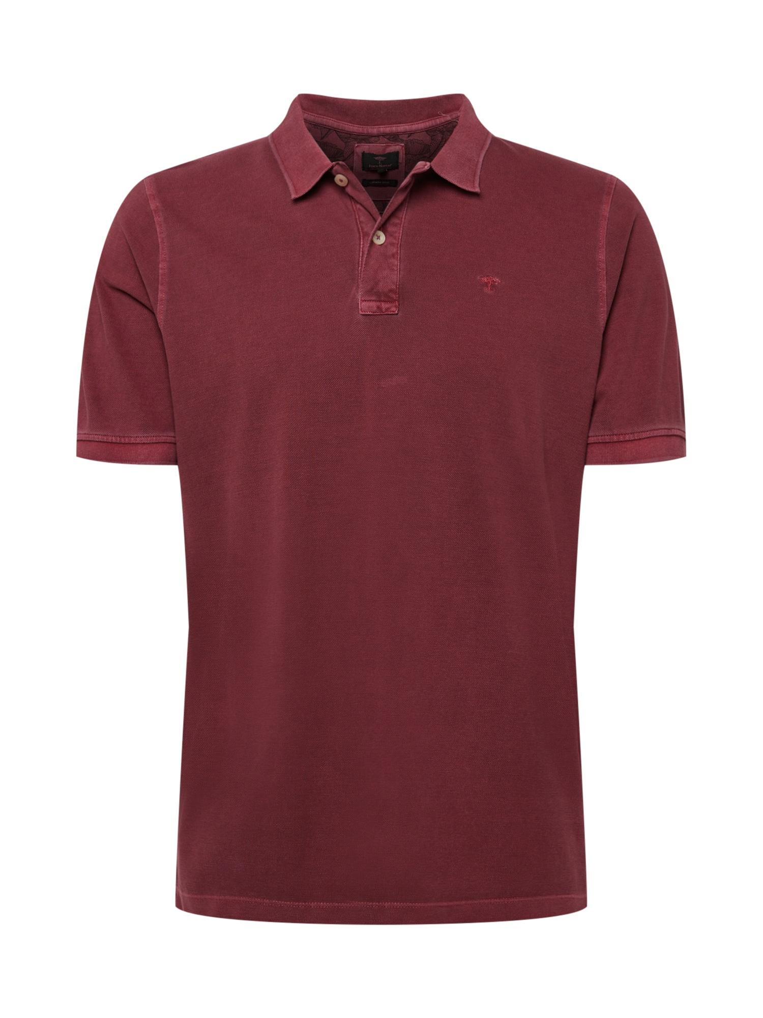 FYNCH-HATTON Marškinėliai skaisti avietinė ar rubino spalva