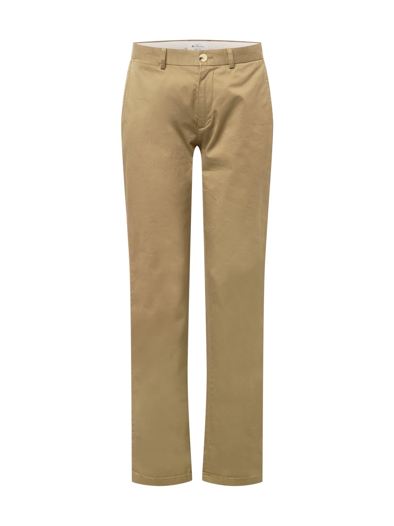 "Ben Sherman ""Chino"" stiliaus kelnės nendrių spalva"