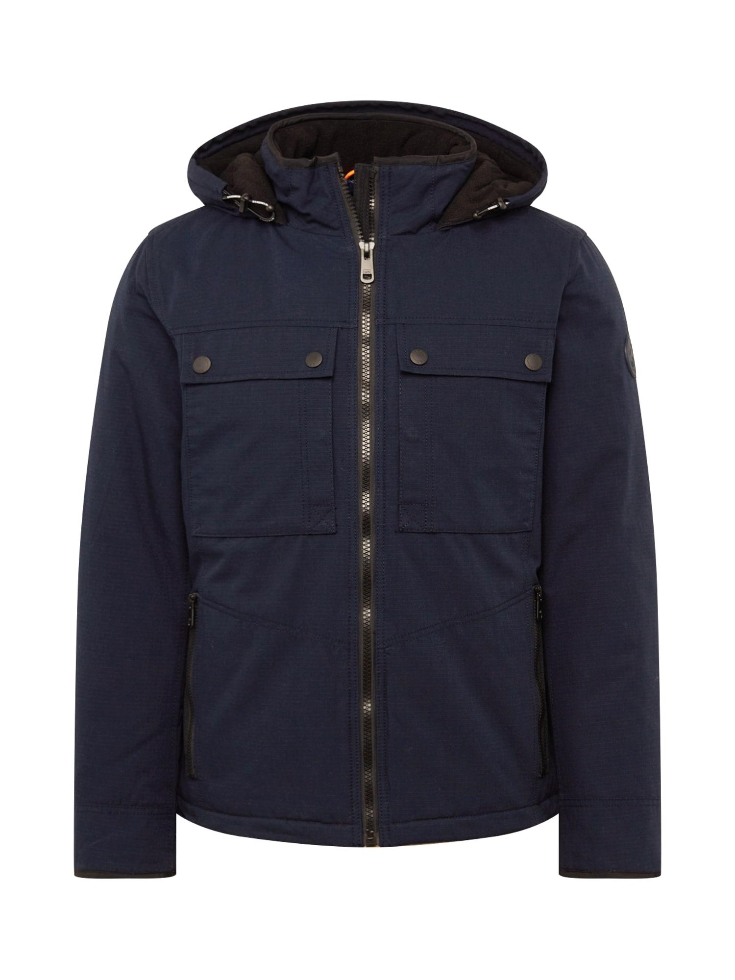 Q/S designed by Přechodná bunda  tmavě modrá