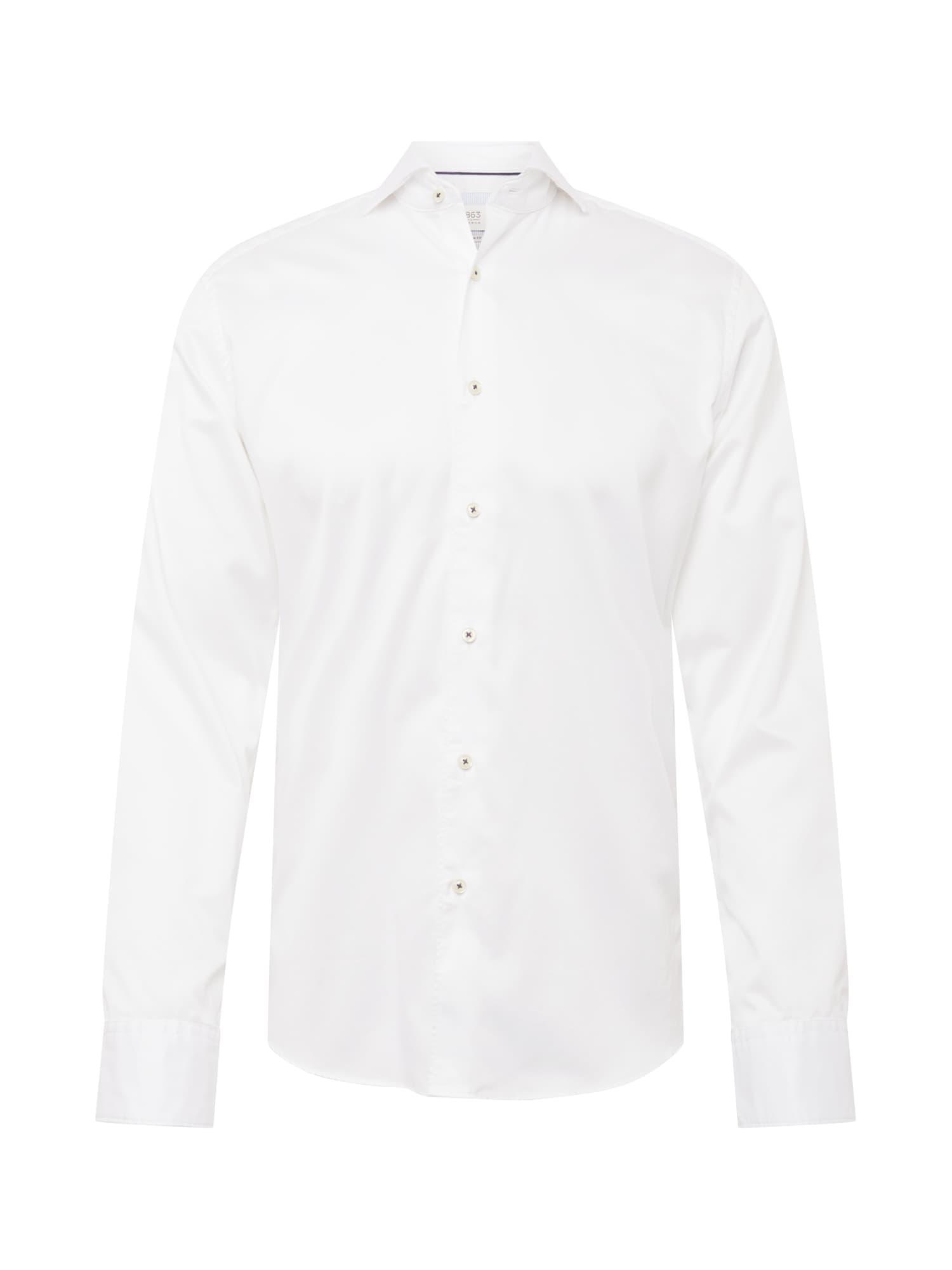 ETERNA Dalykinio stiliaus marškiniai balkšva
