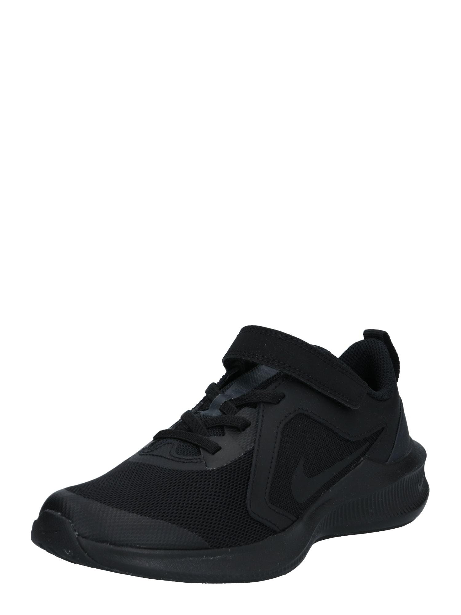 NIKE Sportiniai batai 'Downshifter 10' juoda