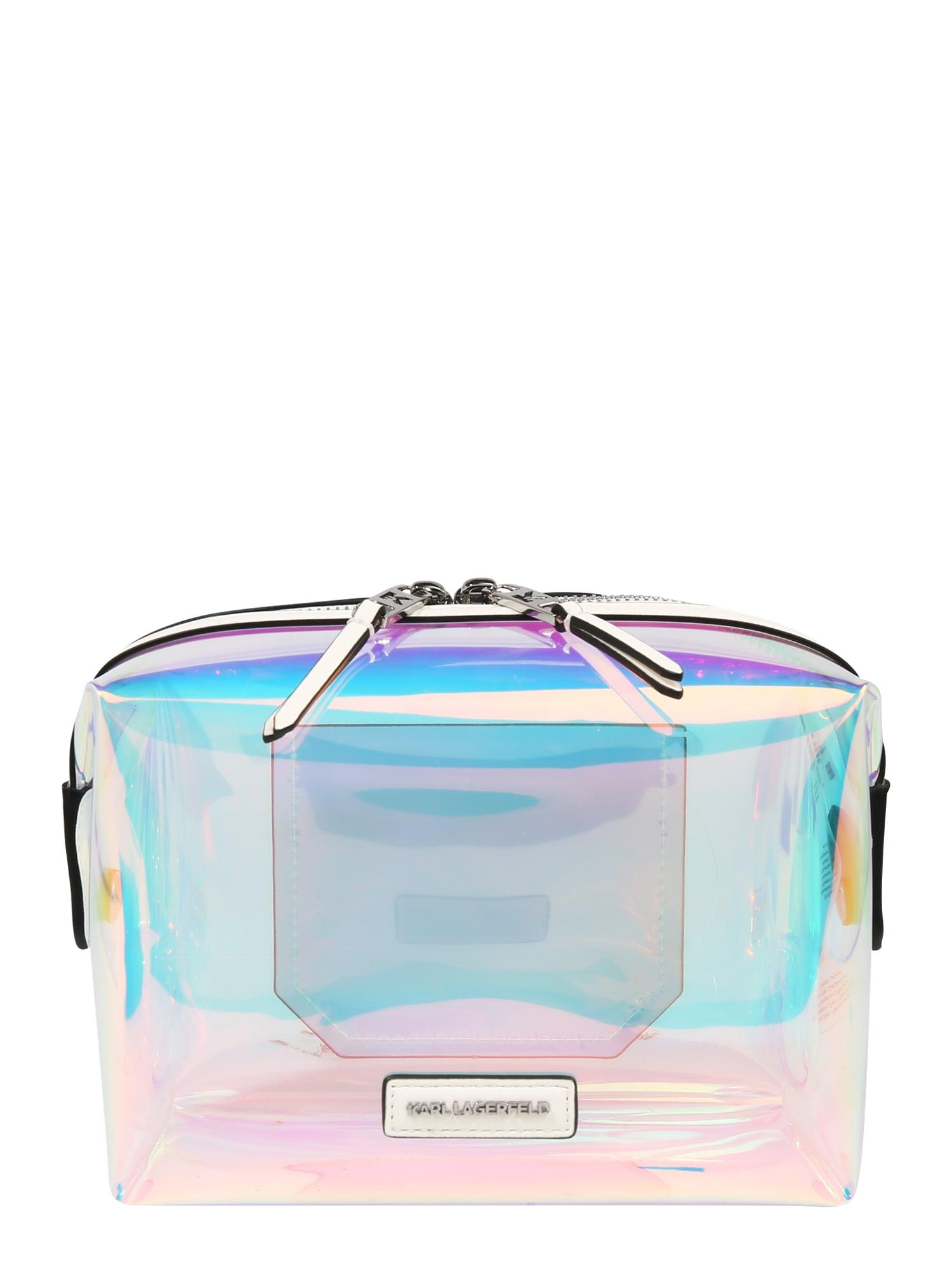 Karl Lagerfeld Tuoleto reikmenų krepšys mišrios spalvos