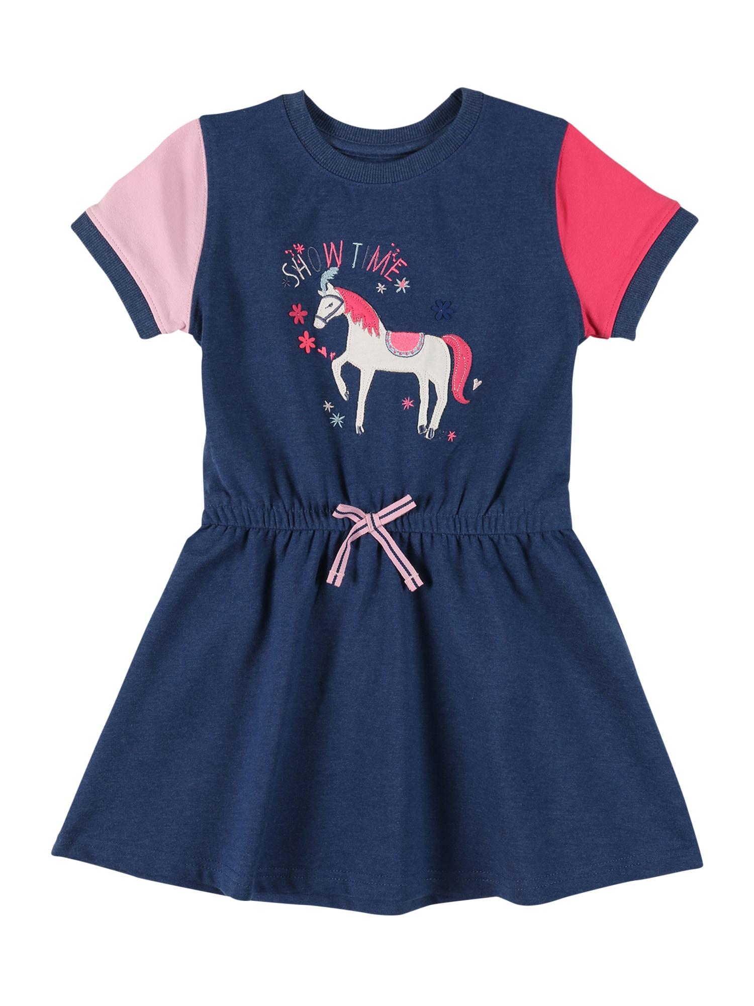 STACCATO Šaty  modrá / pink