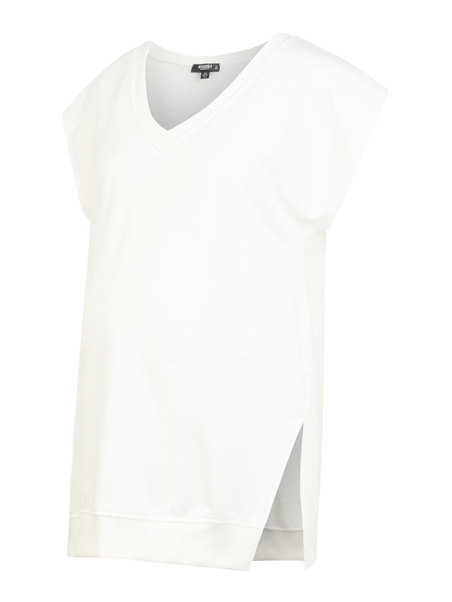 Missguided Maternity Marškinėliai kremo / balta