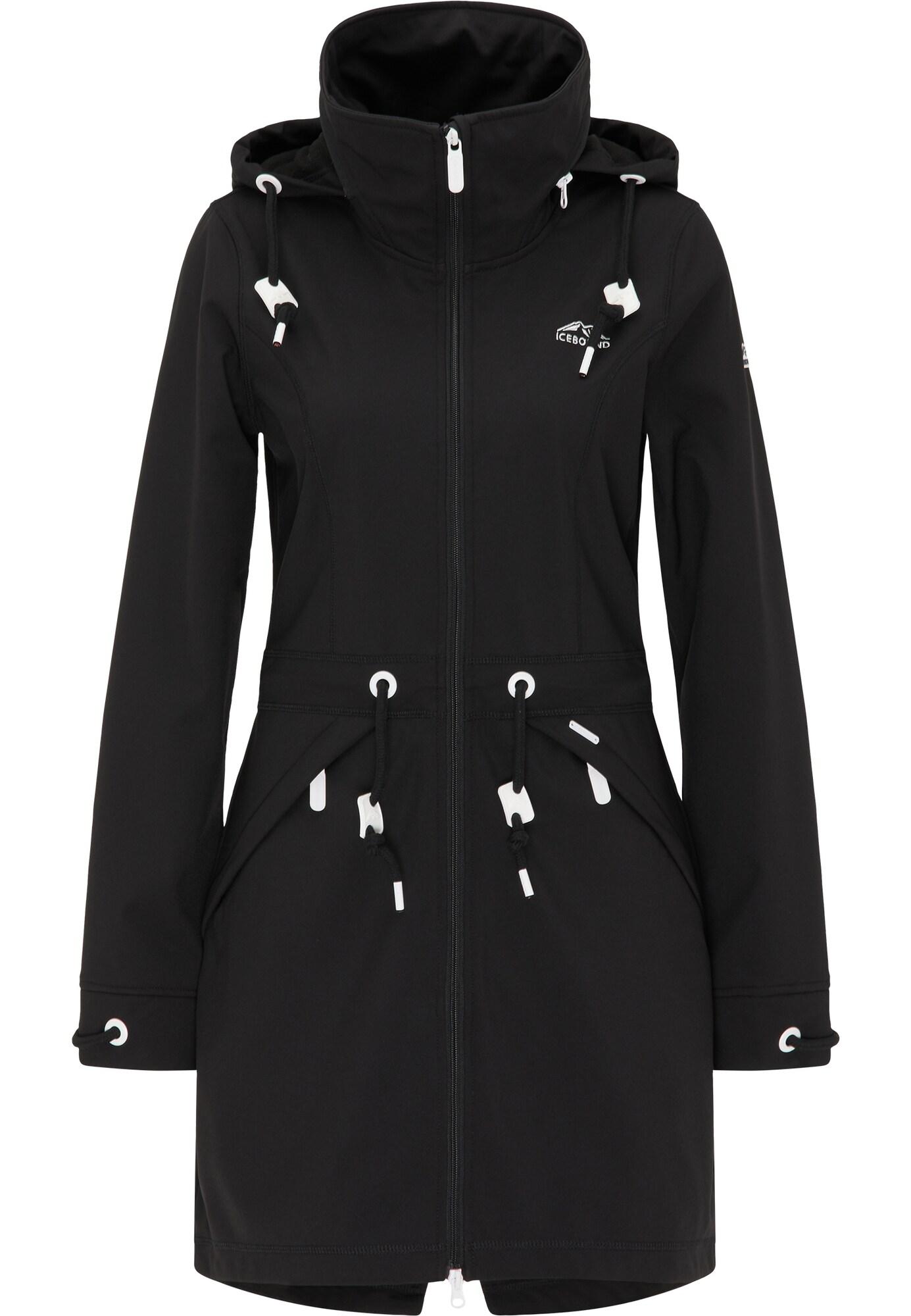 ICEBOUND Striukė-paltas juoda