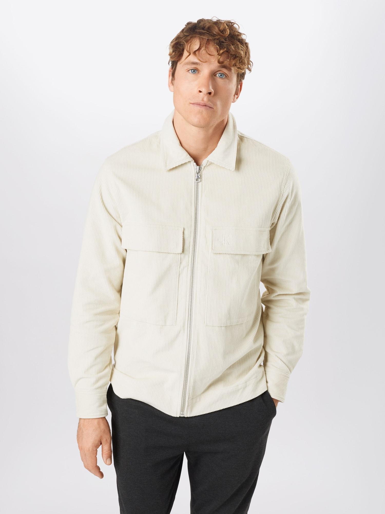 Calvin Klein Jeans Skjorta  kräm