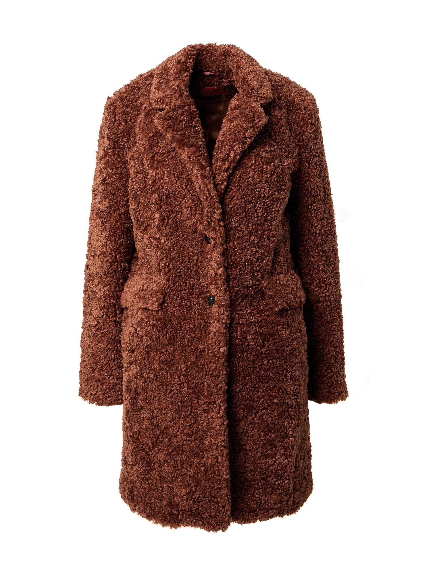 HUGO Rudeninis-žieminis paltas ruda