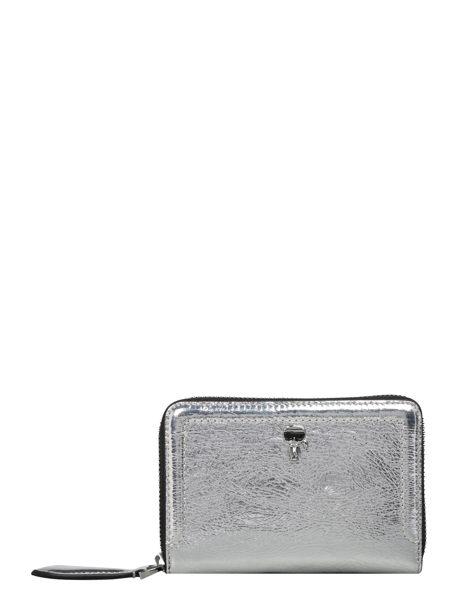 Karl Lagerfeld Piniginė sidabrinė
