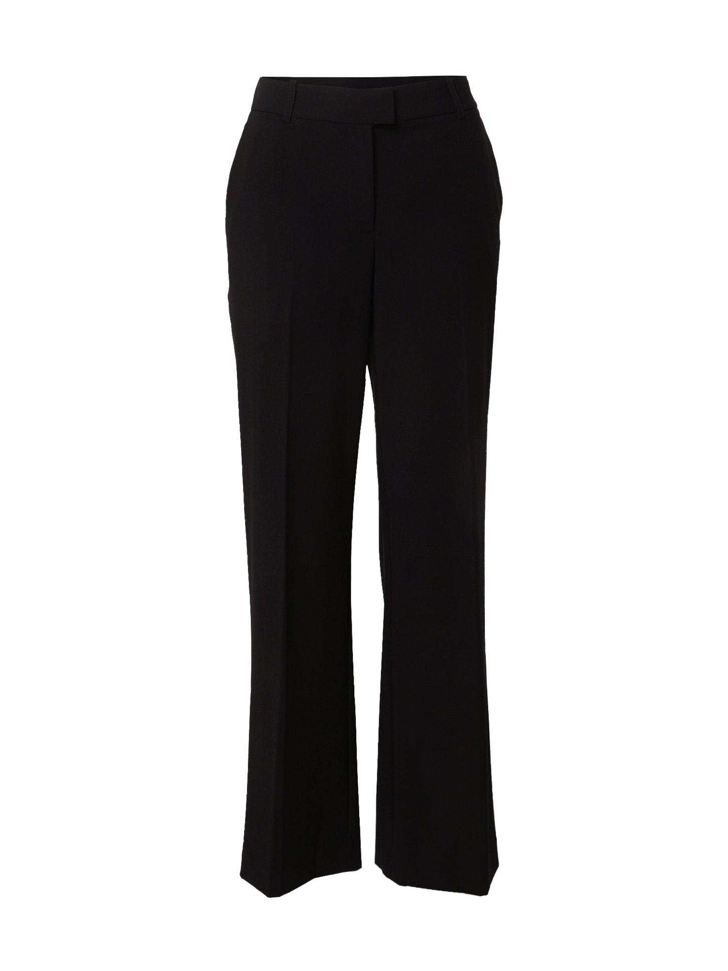 DKNY Kelnės su kantu juoda
