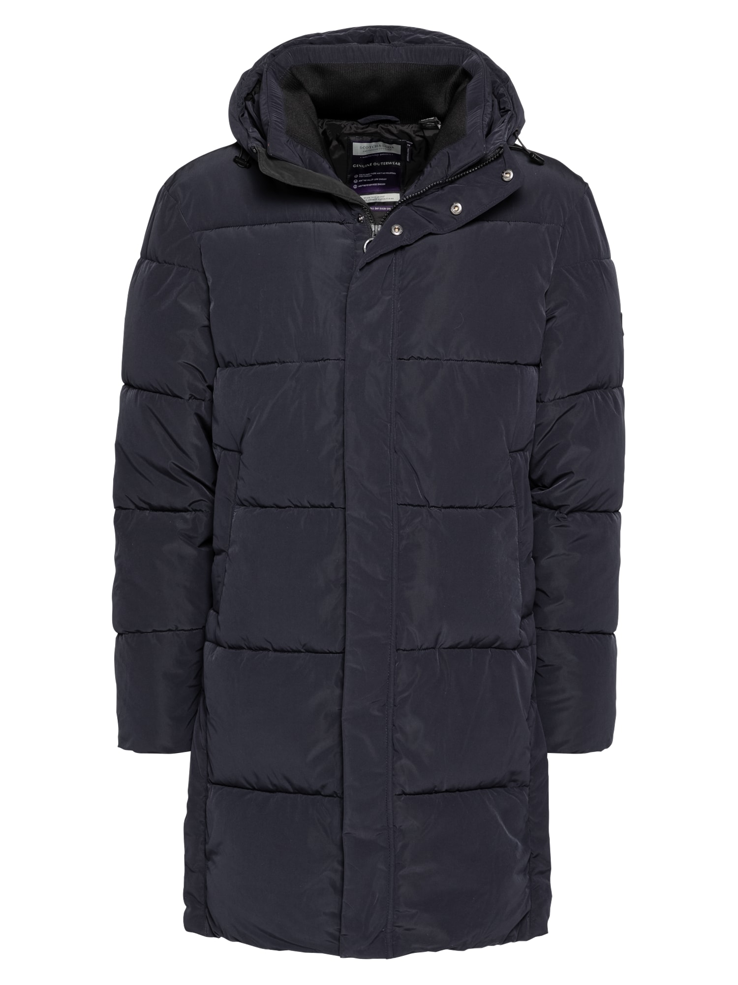 SCOTCH & SODA Žieminis paltas nakties mėlyna