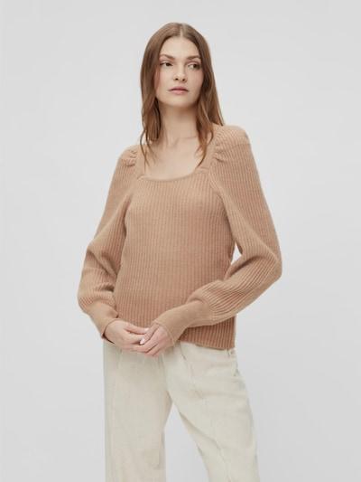Y.A.S Dura langärmeliger Pullover mit Bündchen und viereckigem Ausschnitt