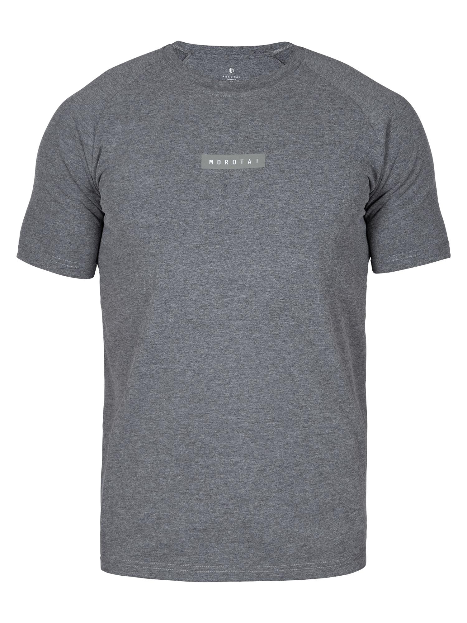 MOROTAI Sportiniai marškinėliai pilka