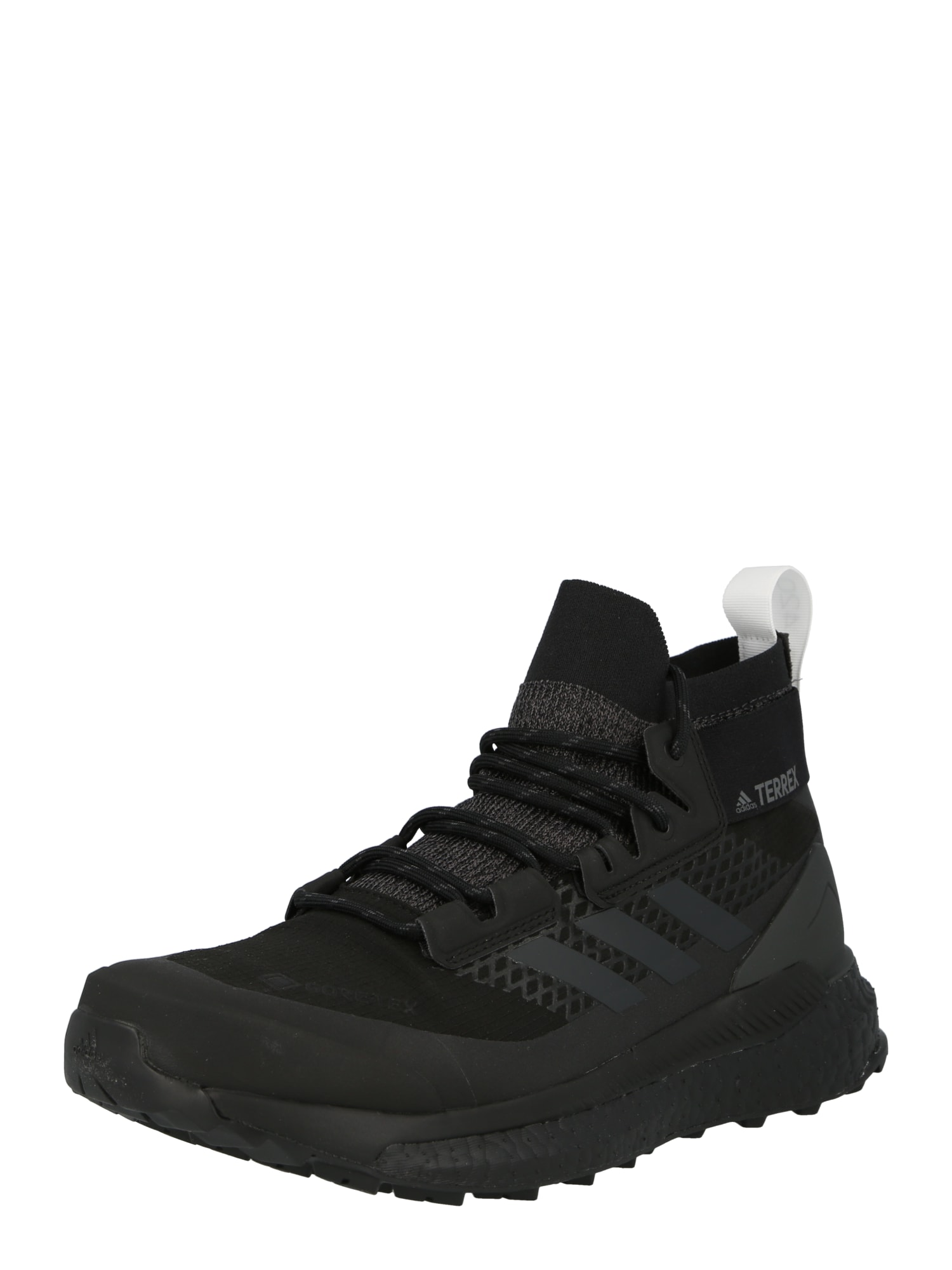ADIDAS PERFORMANCE Auliniai batai juoda / akmens