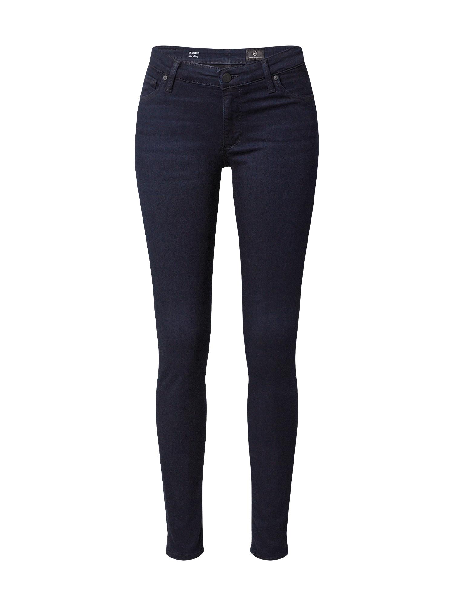 AG Jeans Džinsai tamsiai mėlyna