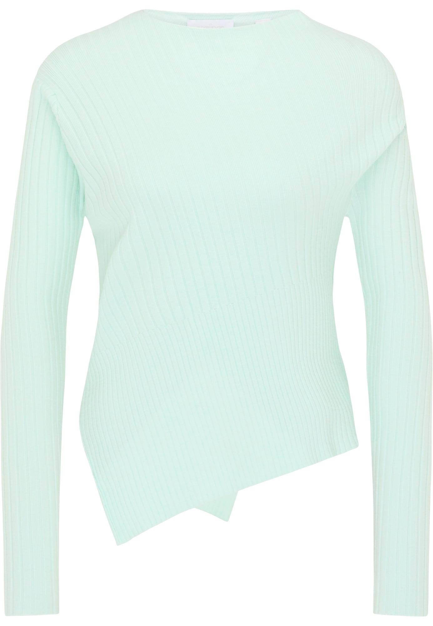 usha WHITE LABEL Megztinis pastelinė žalia